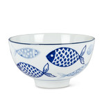 Blue Fish Rice Bowl