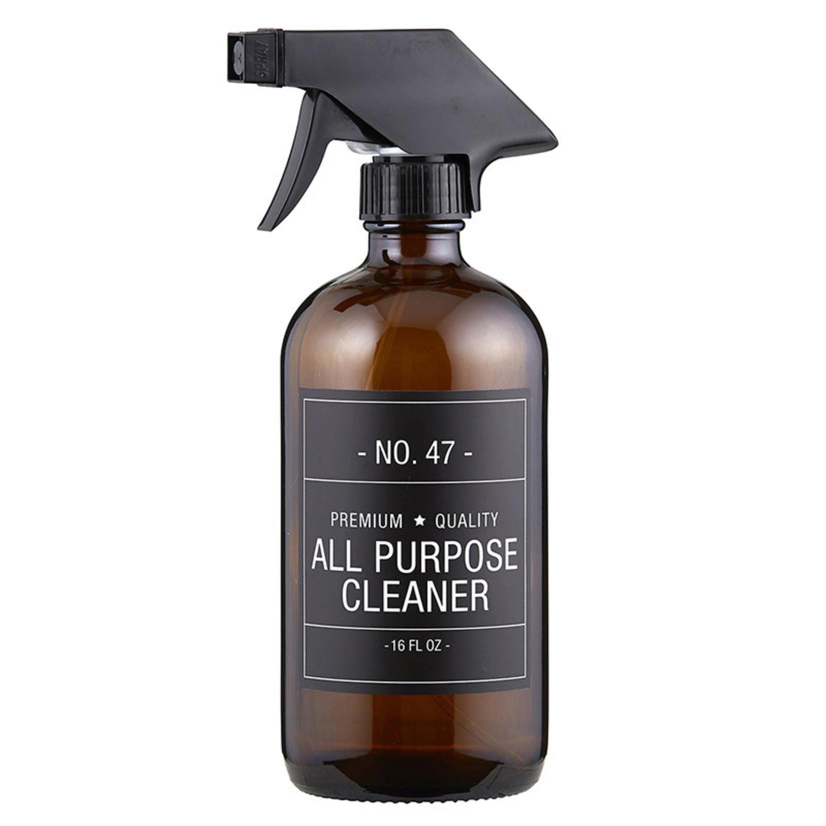 All Purpose Cleaner Bottle, Black Label