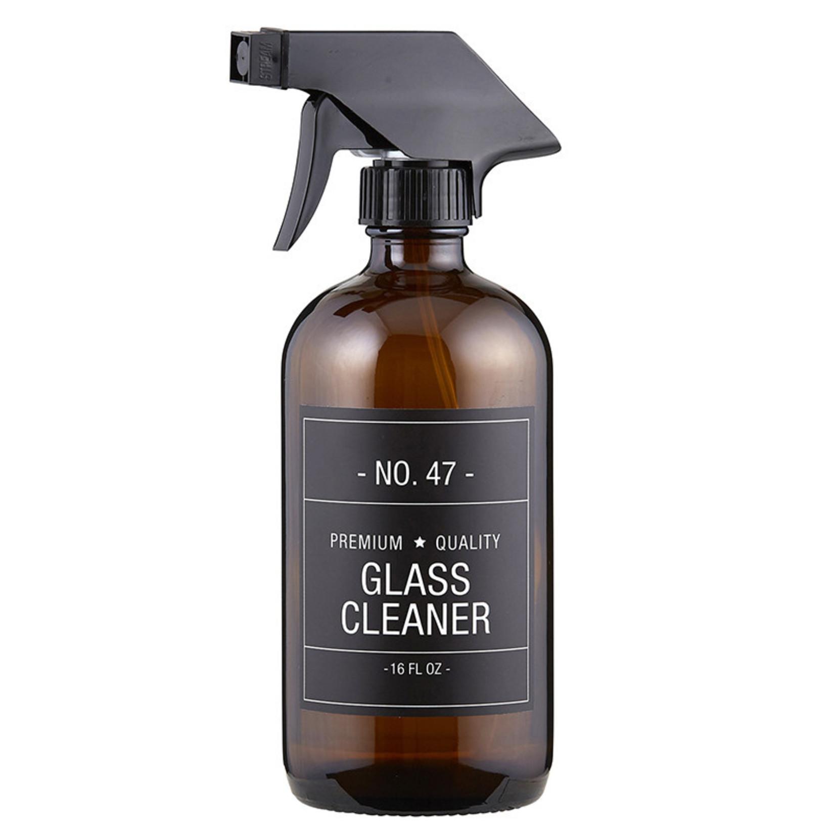 Glass Cleaner Bottle, Black Label