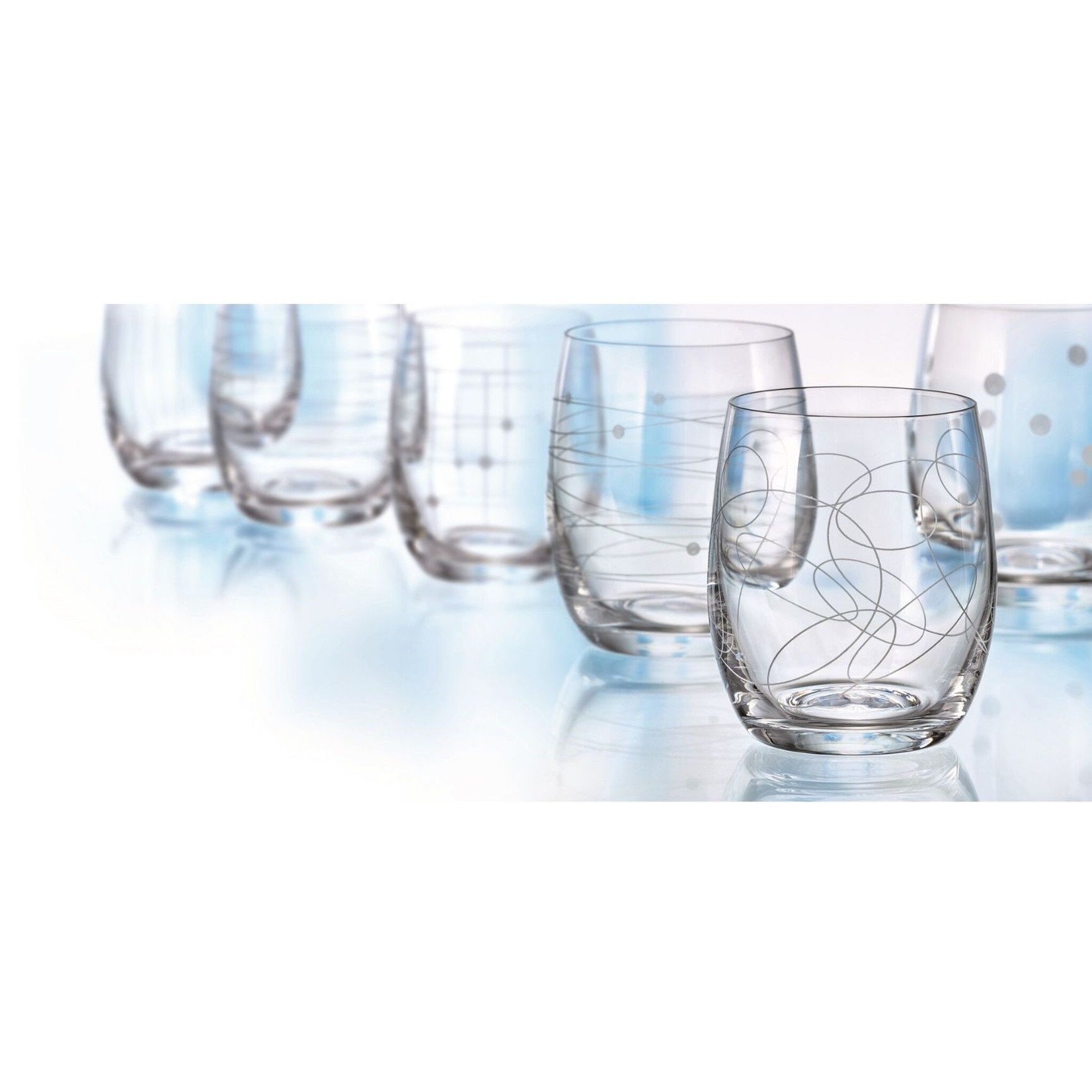 Elements Stemless Glass Set of 6