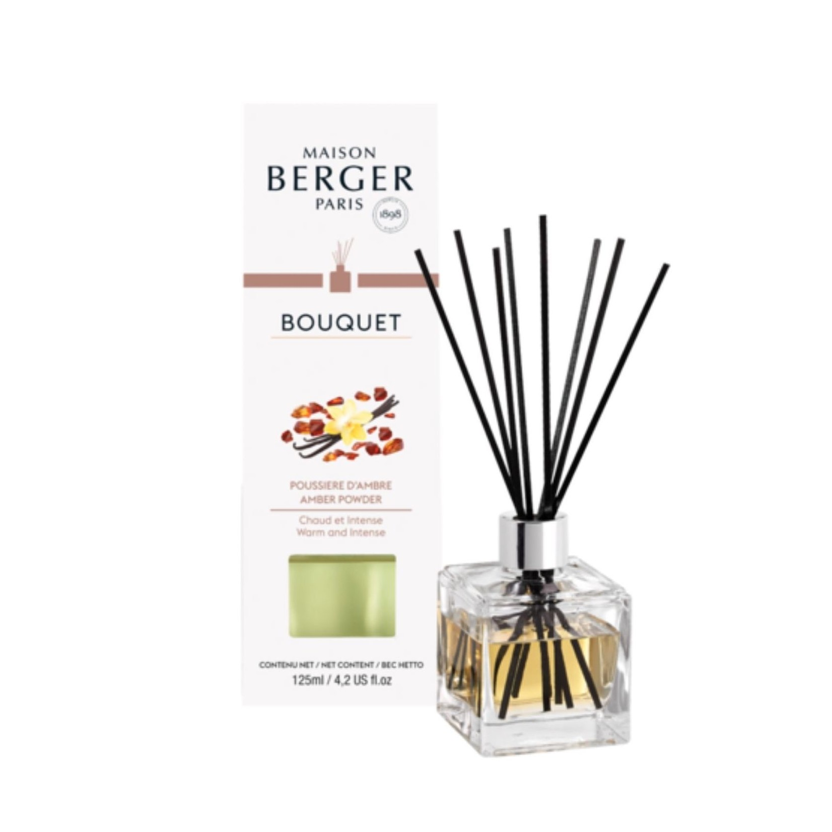 Cube Scented Bouquet, Amber Powder
