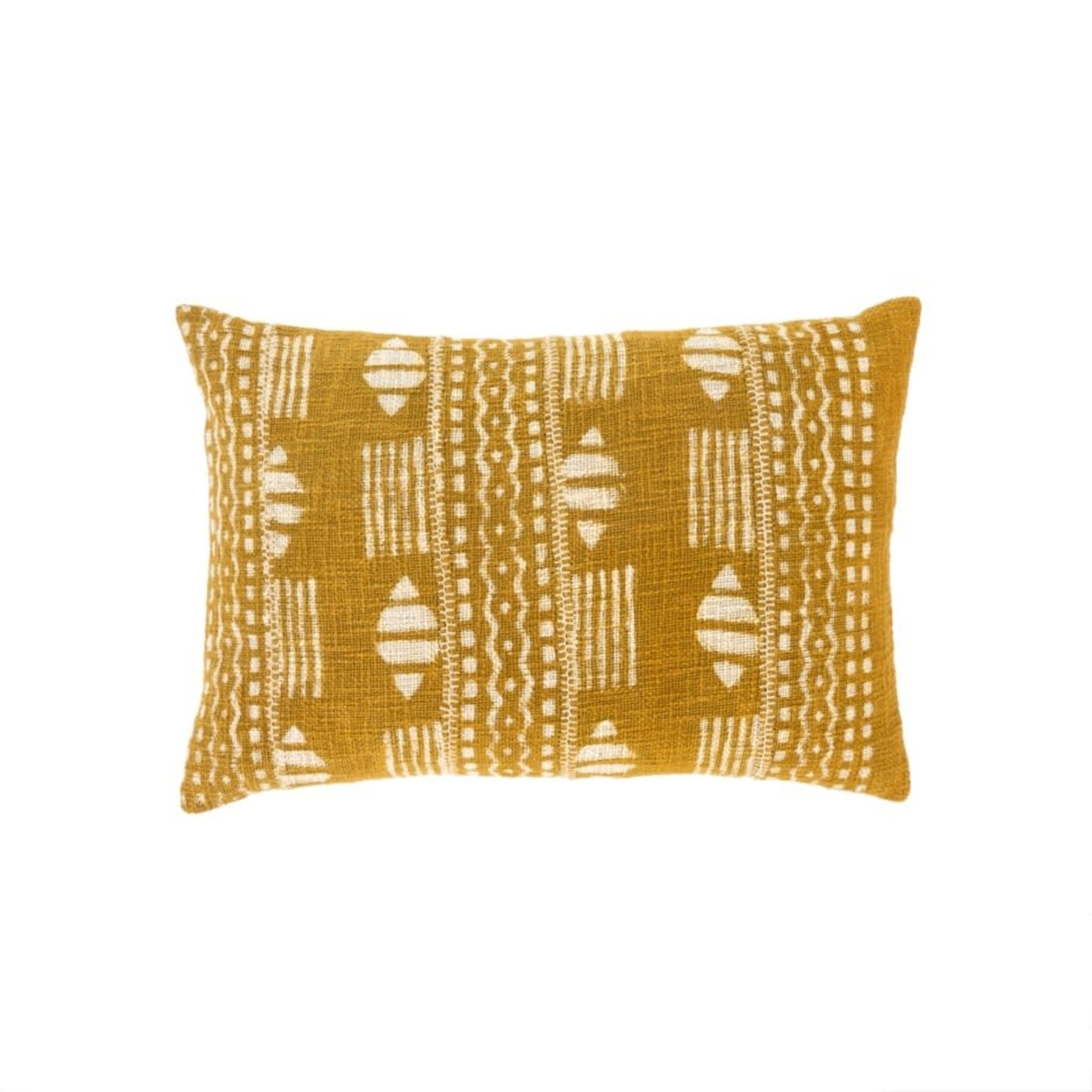 Dabu Pillow, Chartreuse