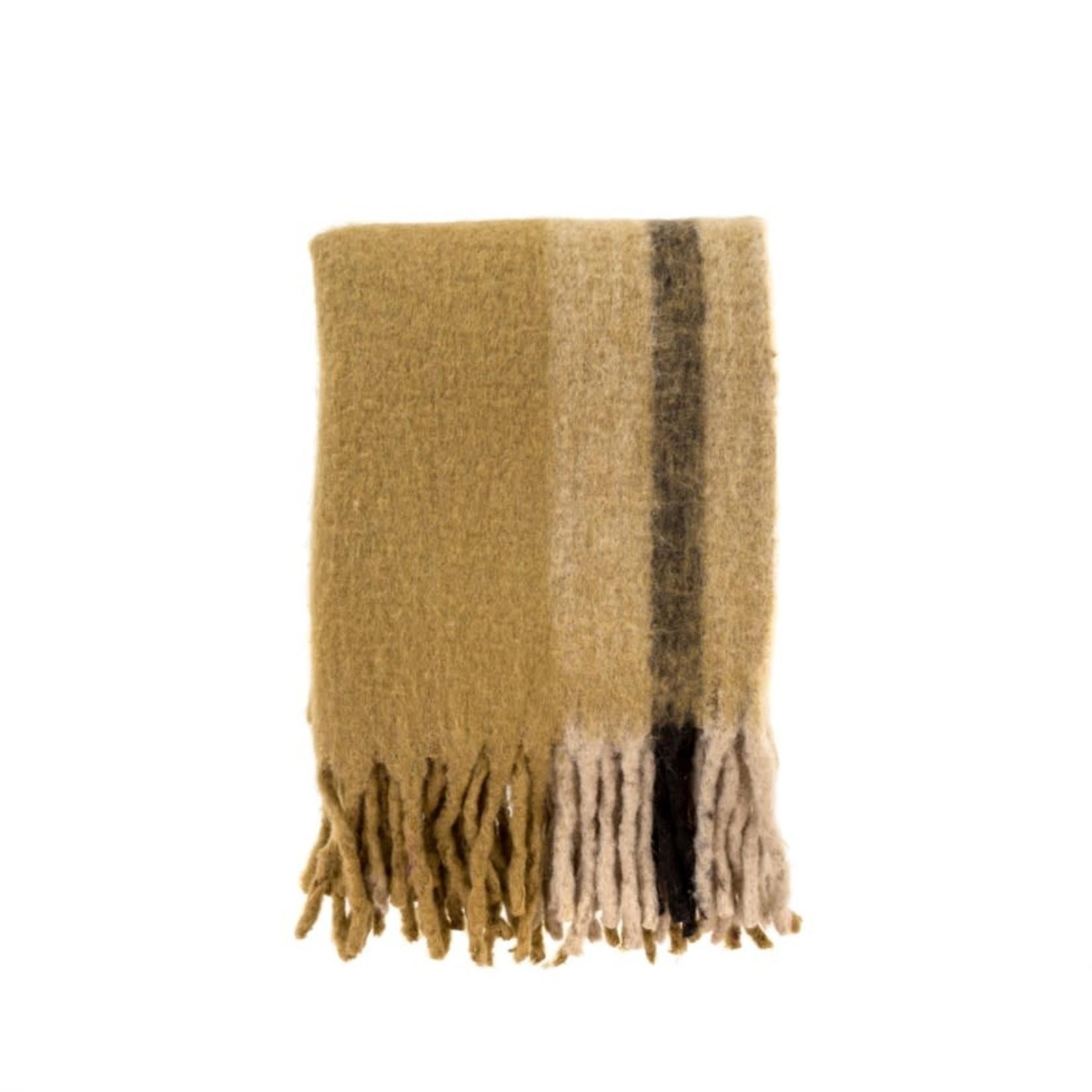Whistler Woven Throw, Gold