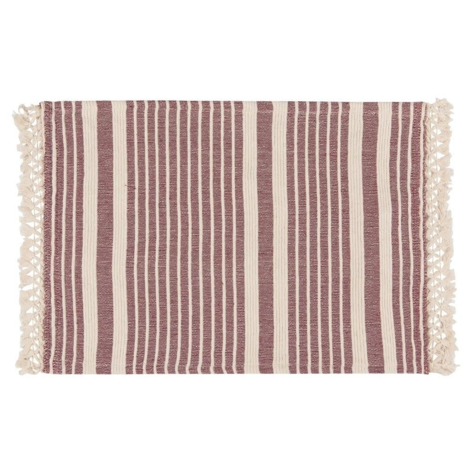 Now Designs Piper Heirloom Placemats Set of 4 in Wine
