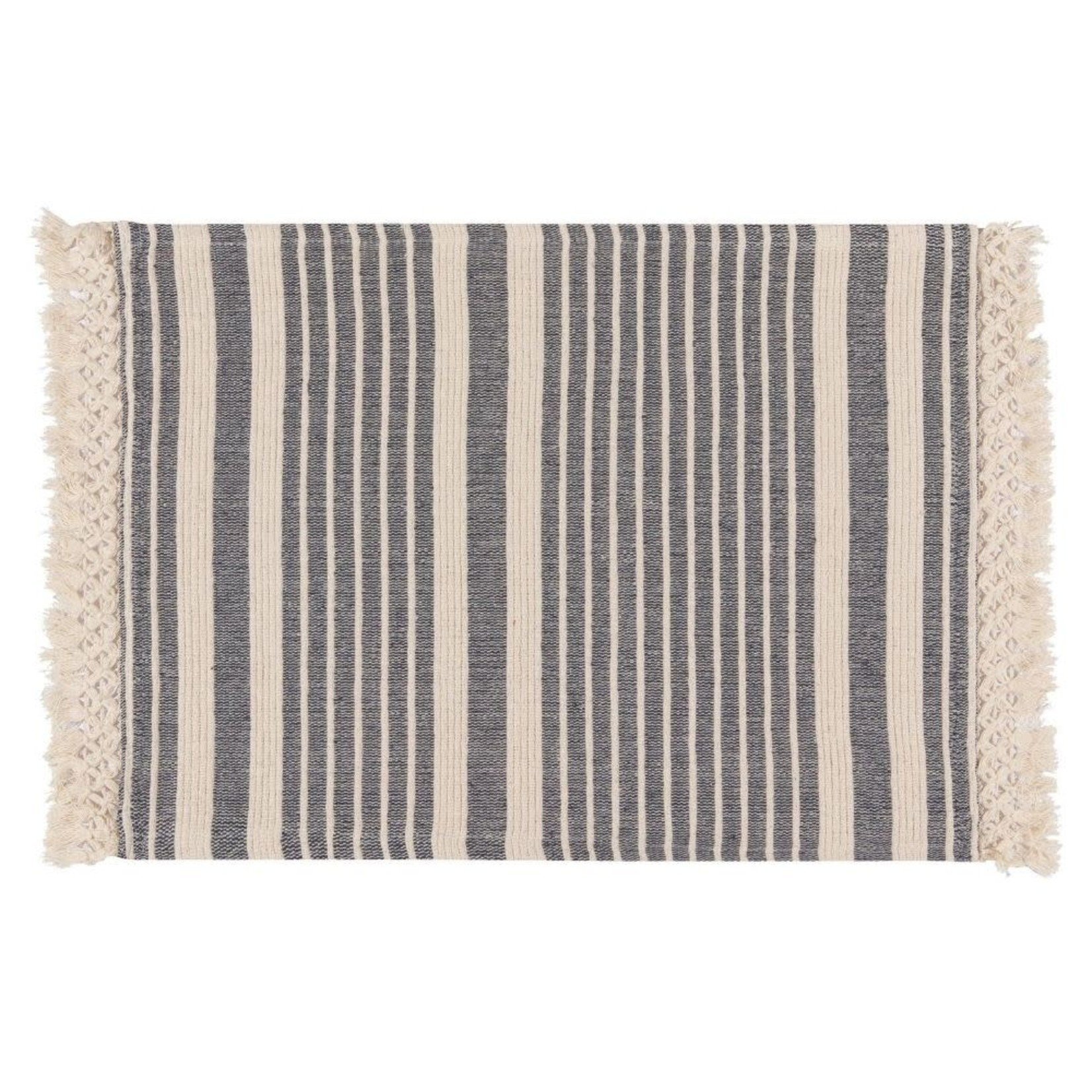 Now Designs Piper Heirloom Placemats Set of 4 in Midnight