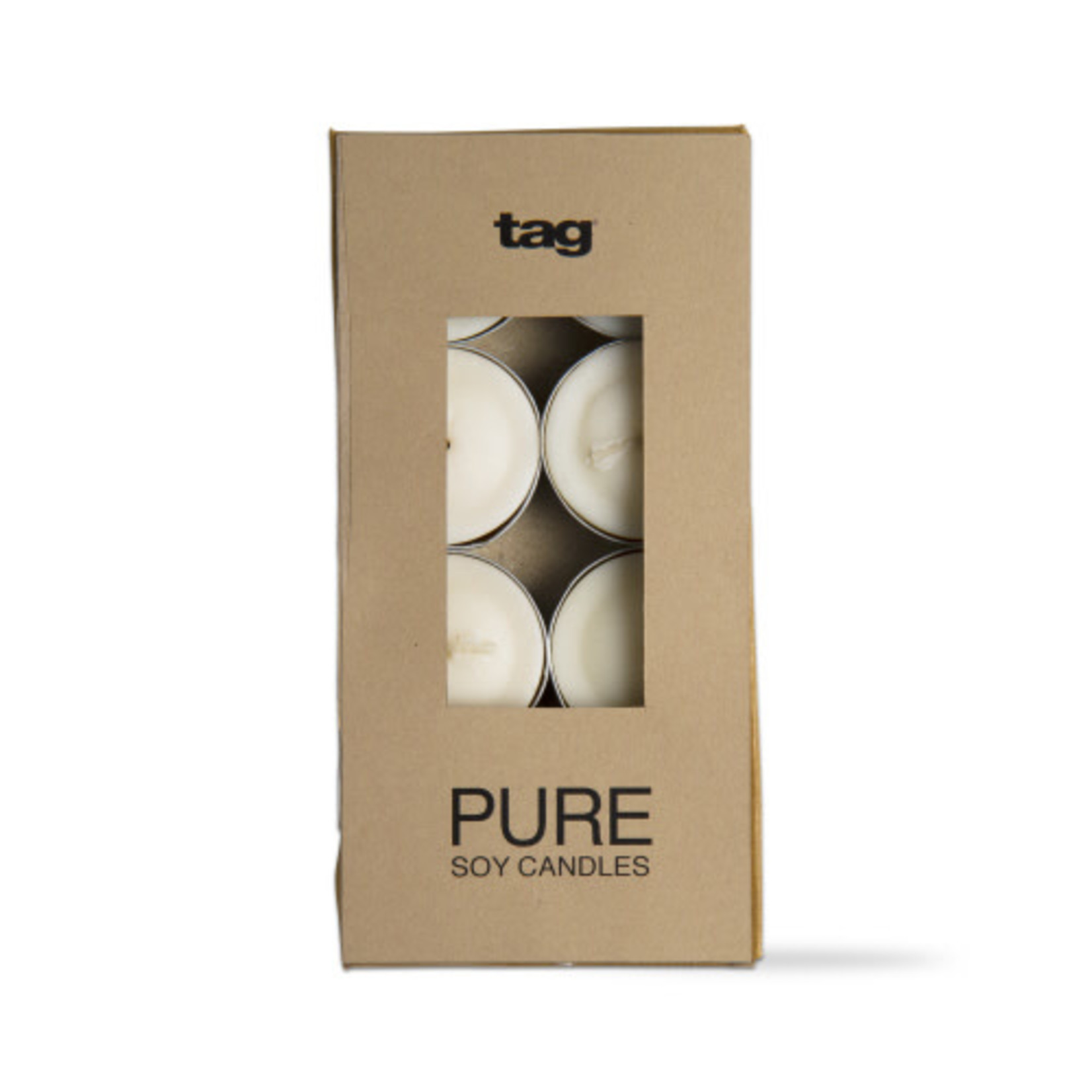 Pure Soy Tealight Set of 8 Ivory