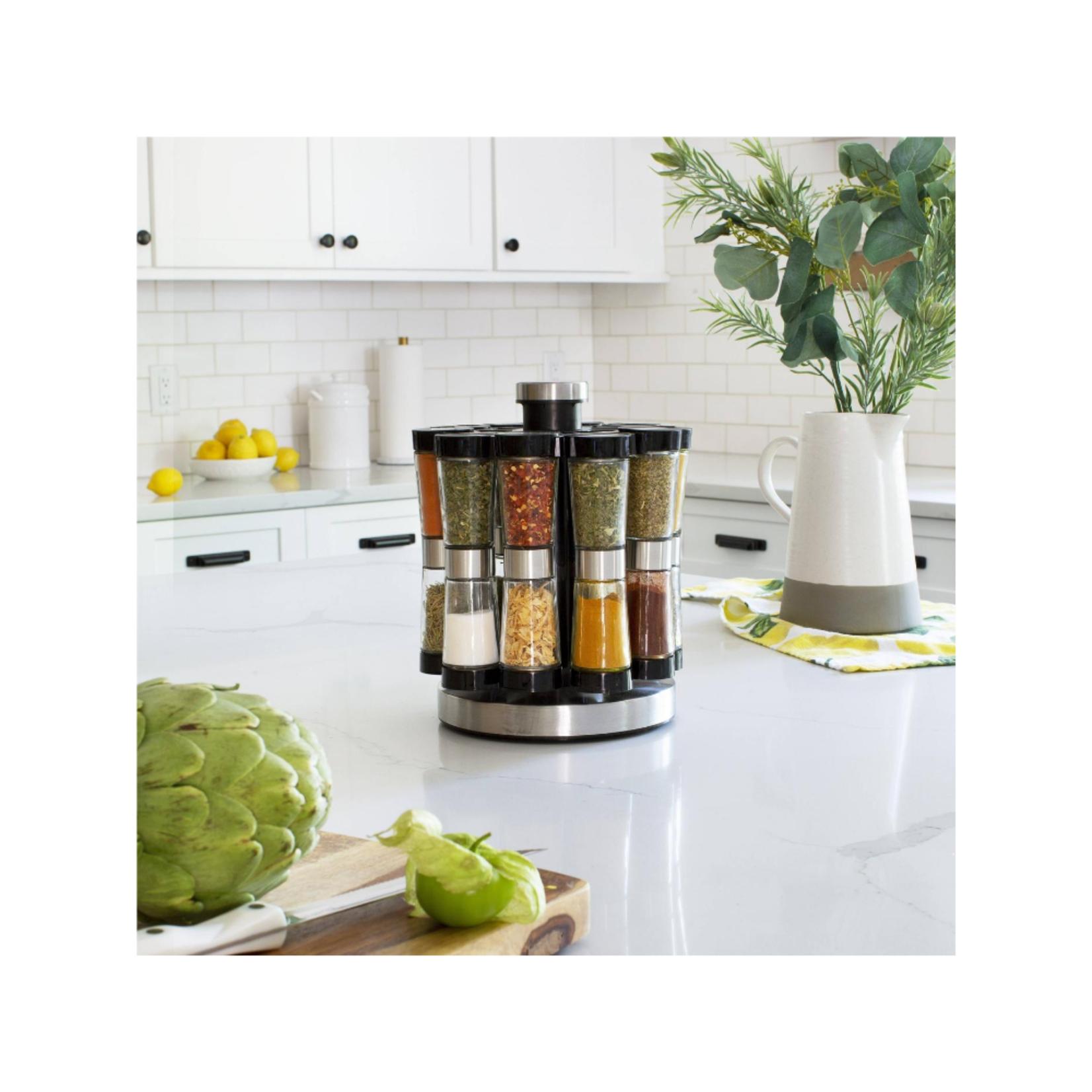 Hourglass 20 Jar Spice Rack