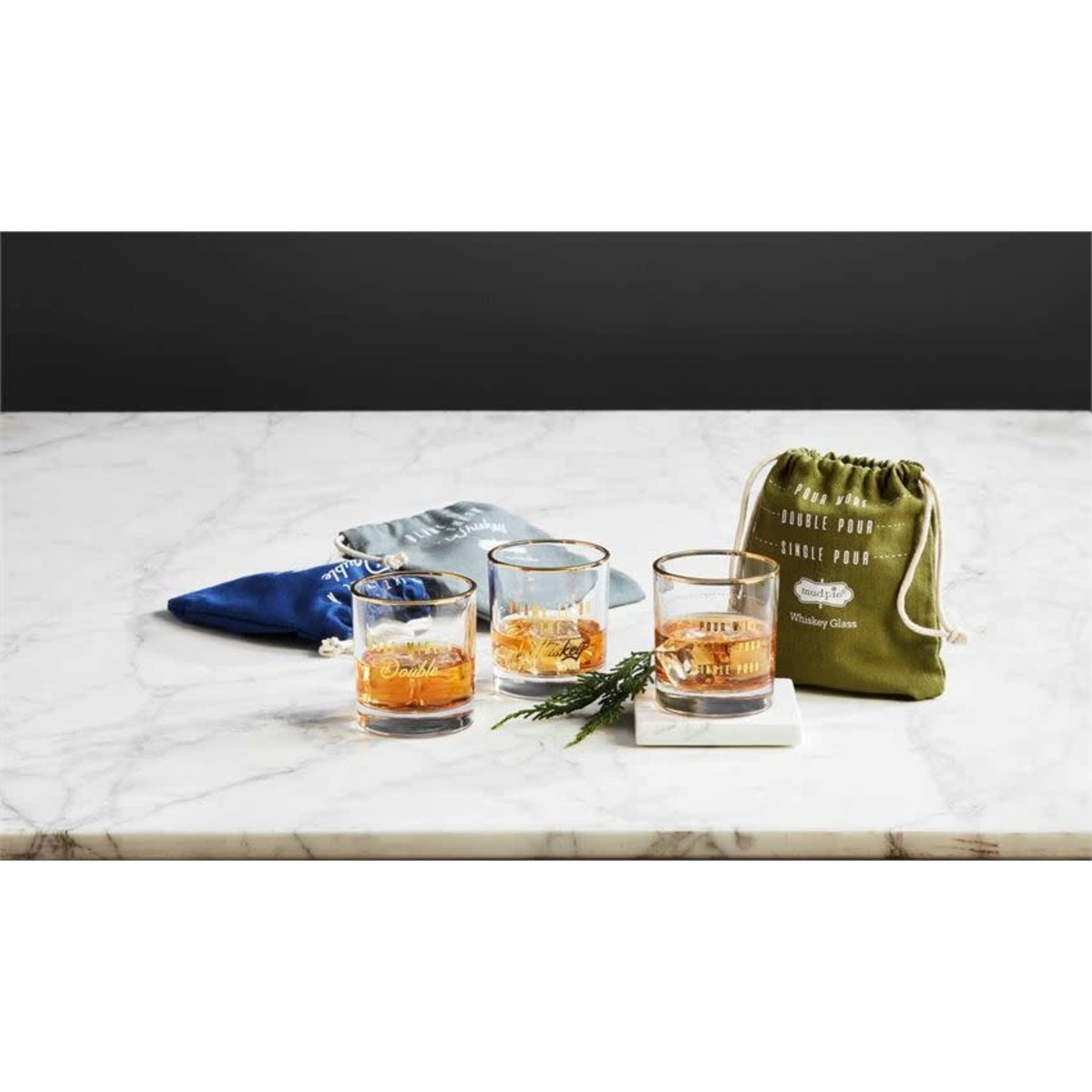 Bagged Whiskey Glass (Multiple Options)