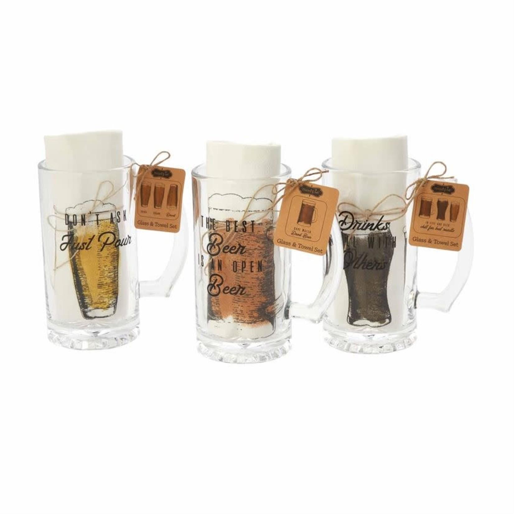 Beer Mug Set (Multiple Options)