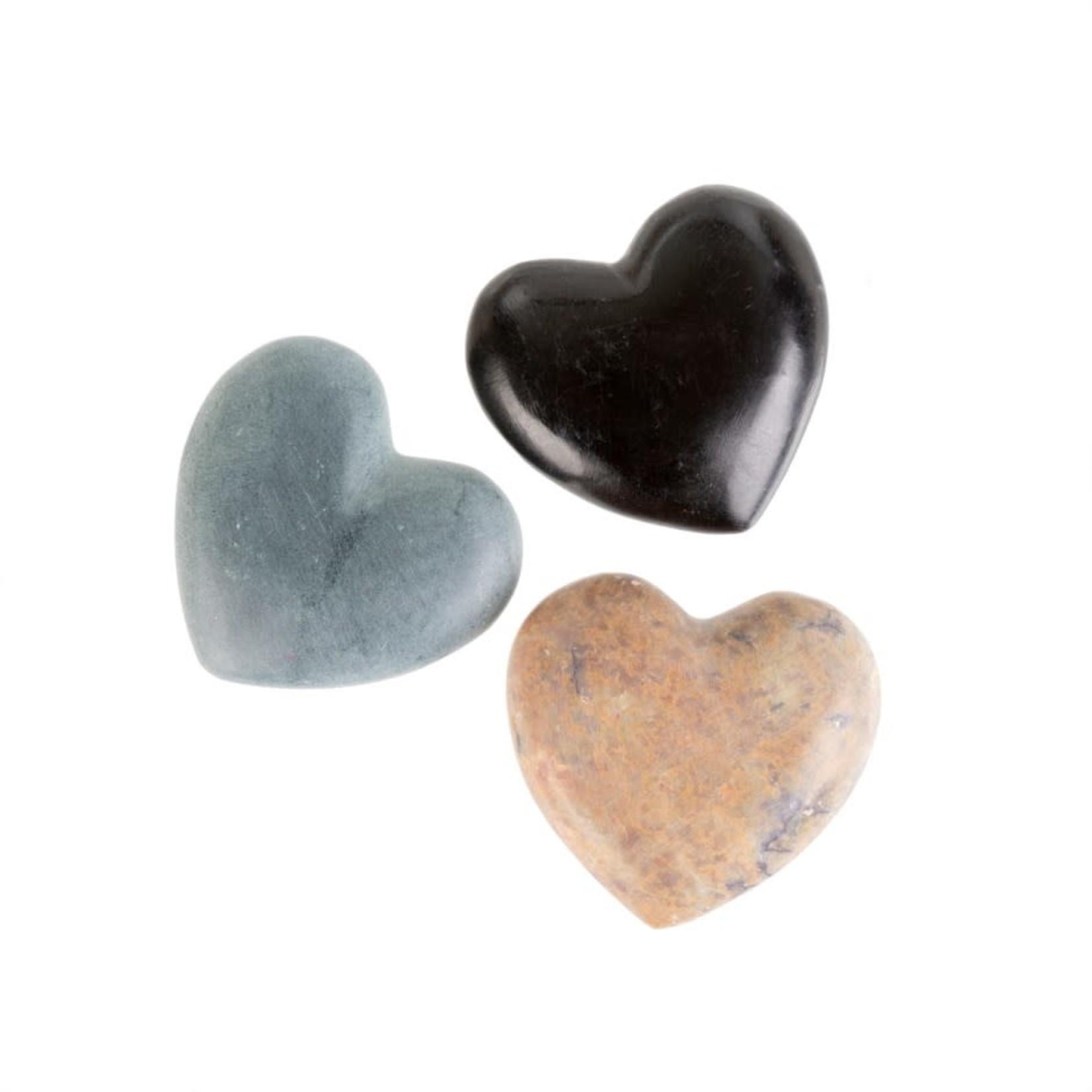 Mini Soapstone Hearts