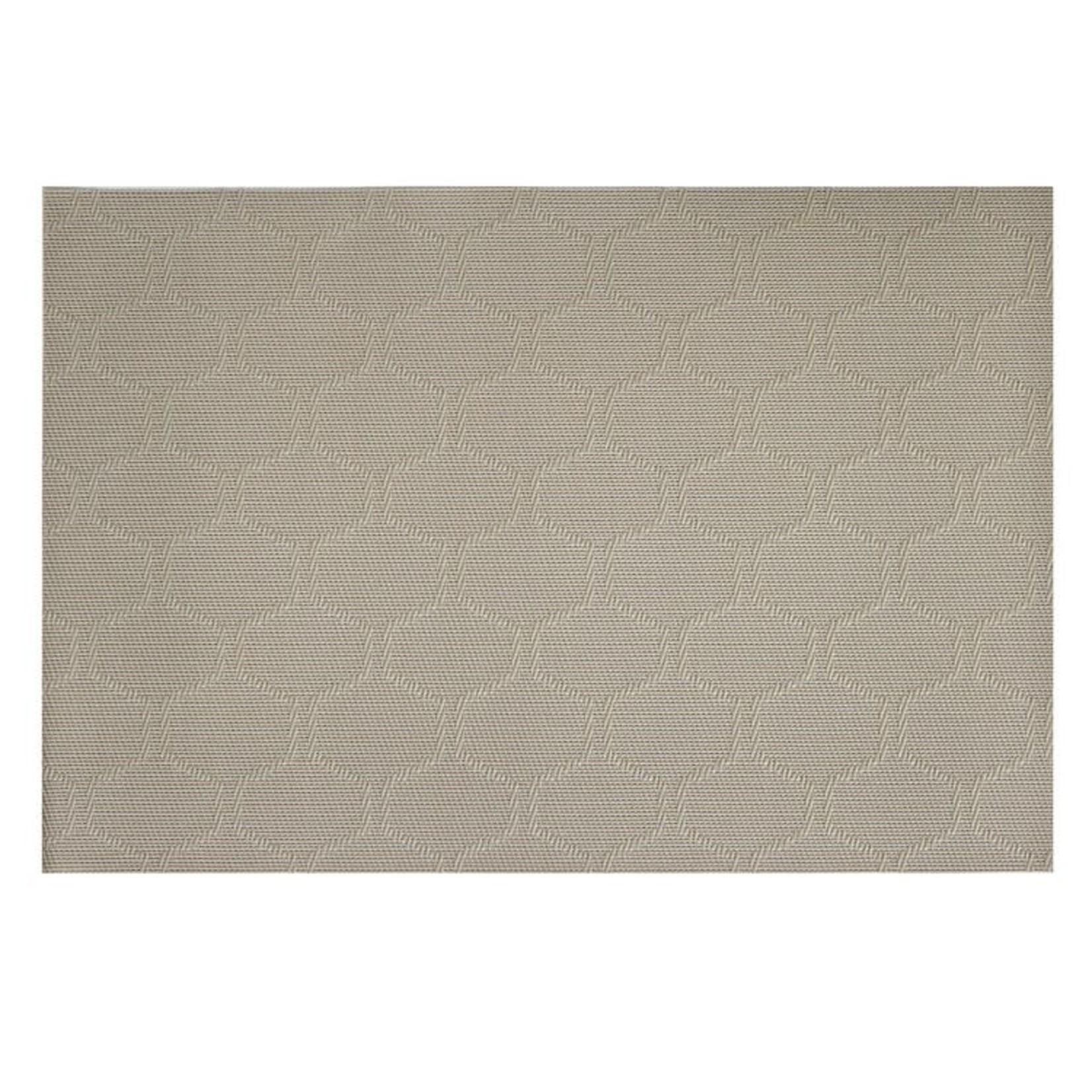 Honeycomb Vinyl Placemat Grey