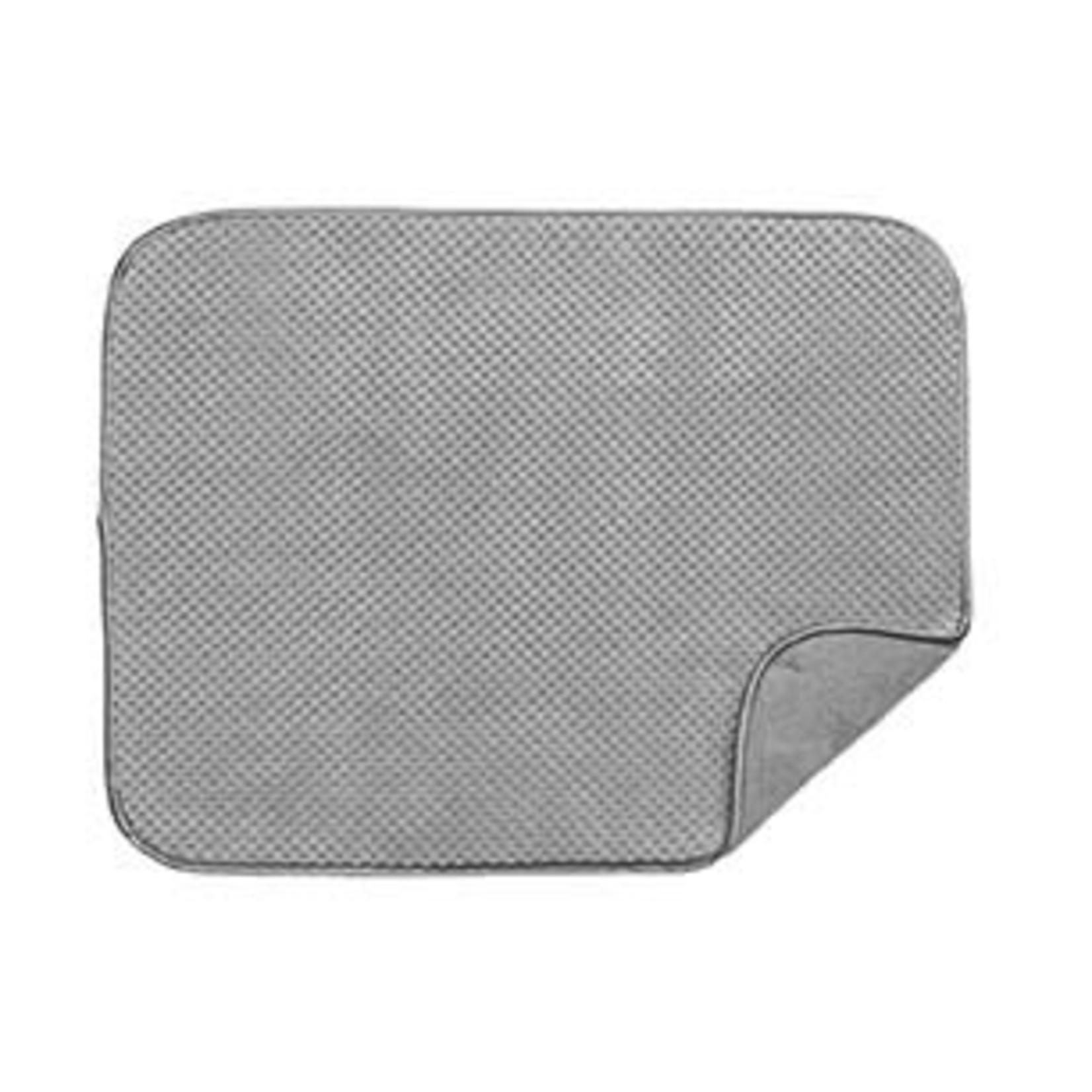 Luxe Plush Oversized Drying Mat Grey