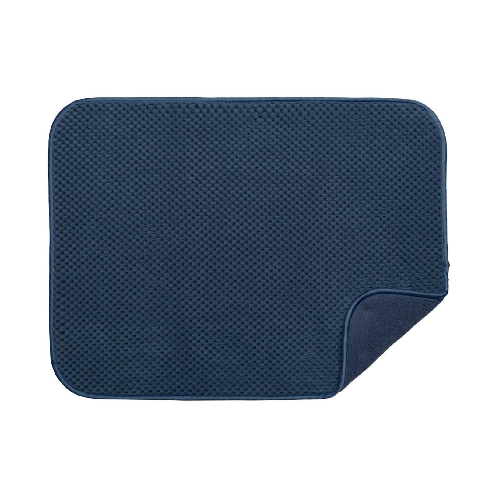 Luxe Plush Oversized Drying Mat Indigo
