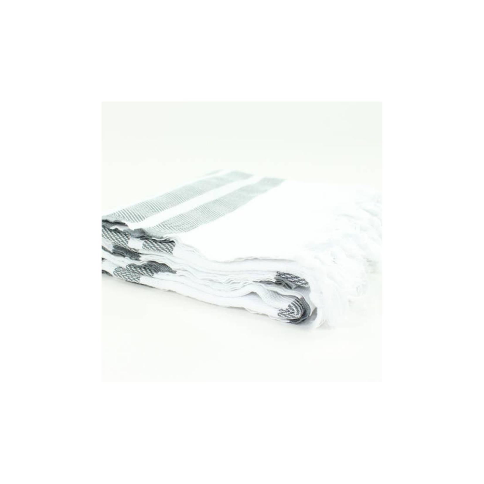 Premium Turkish Herringbone Pattern Towel
