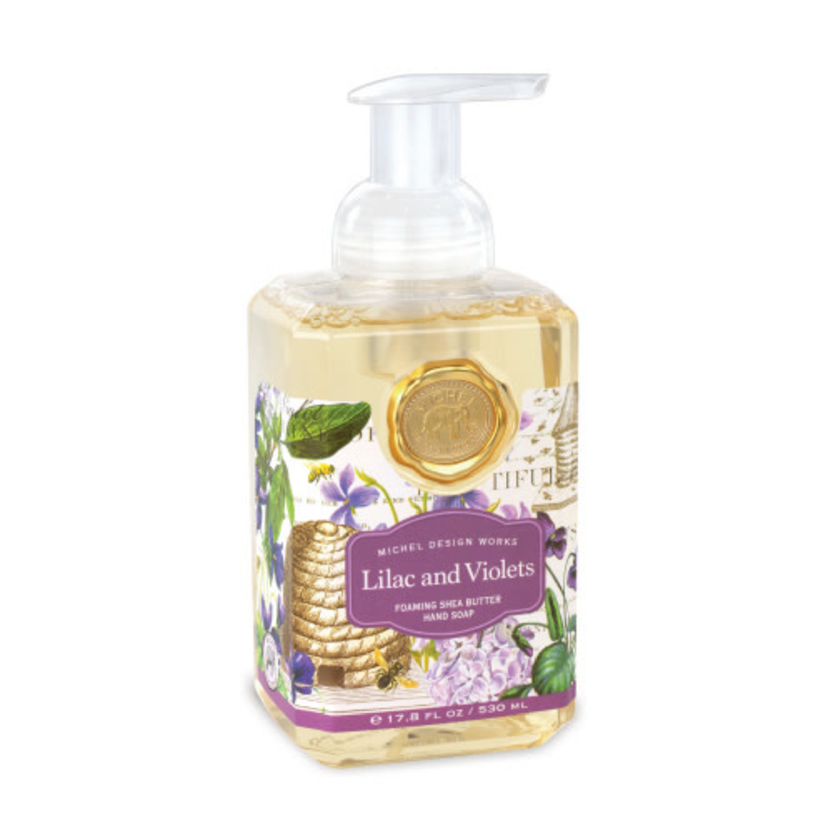 Lilac and Violets Foaming Soap