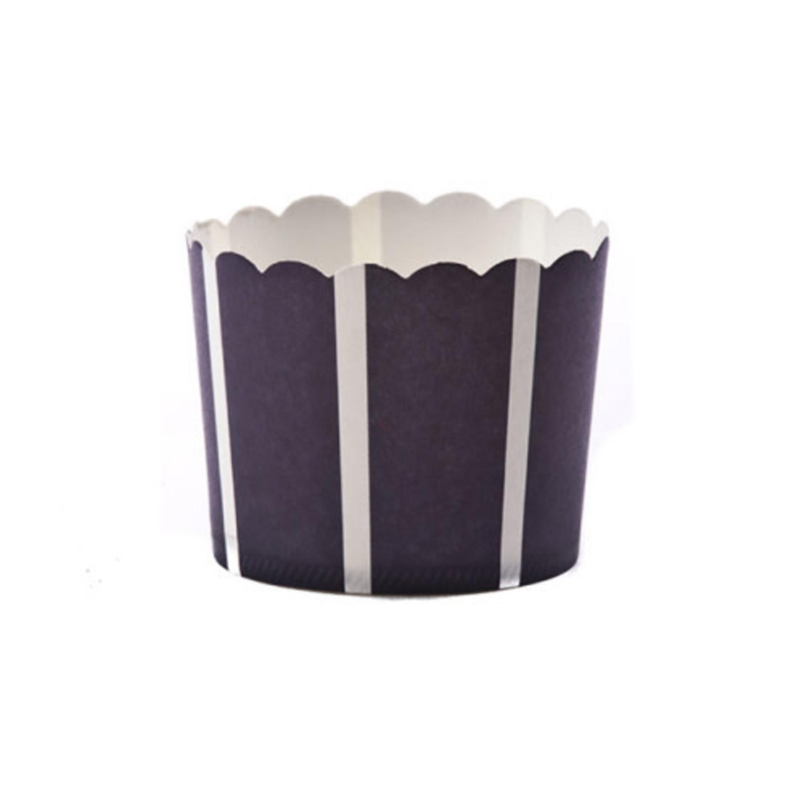 Large Navy Vertical/20PK Baking Cup