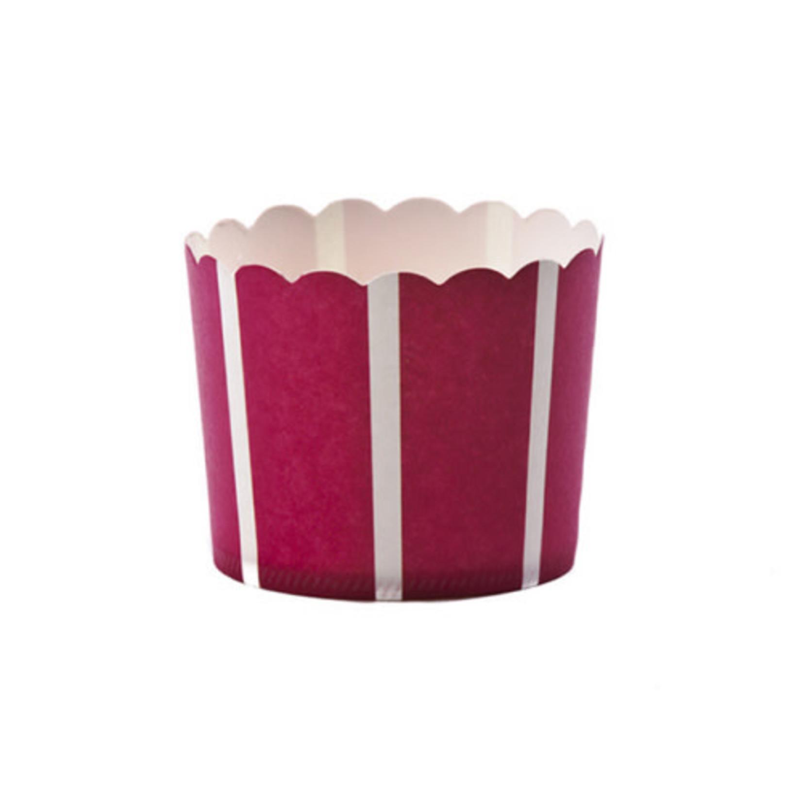 Large Scarlet Vertical/20PK Baking Cup