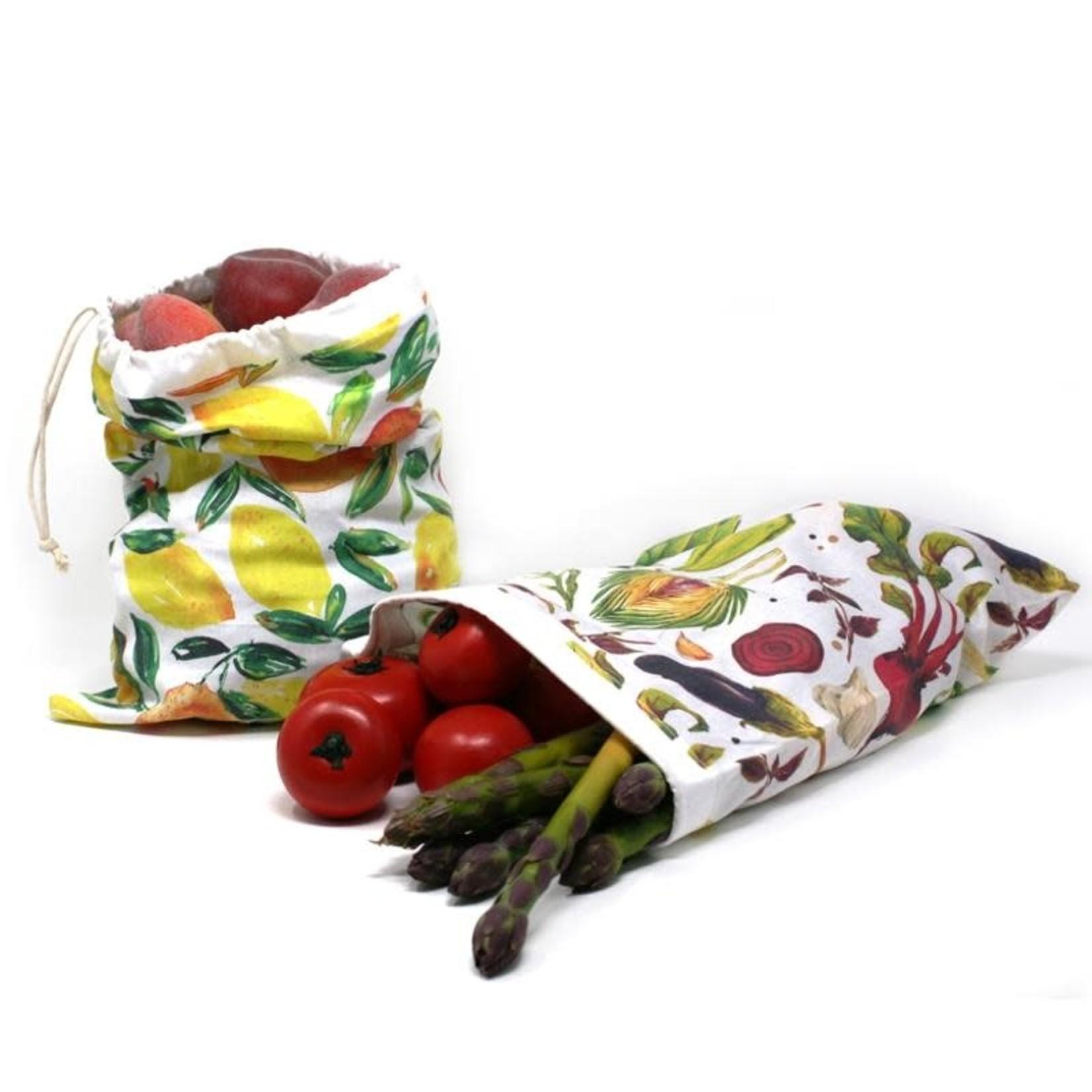 Danesco Tools & Gadgets Cotton F&V Produce Bags Set of 2