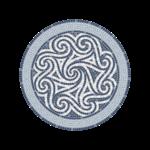 Cyclades Mosaic Round Mat