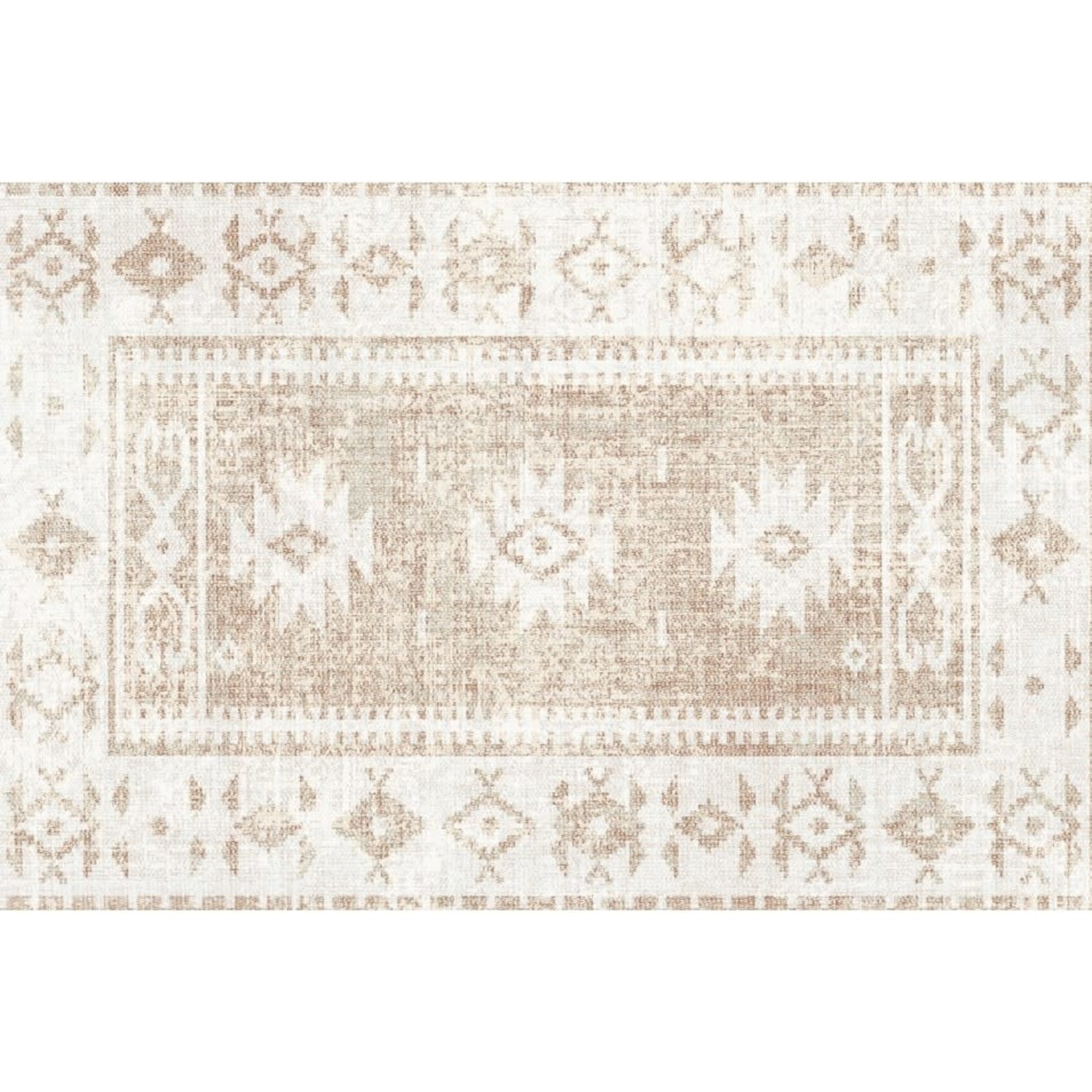 Sand Persian Floor Mat