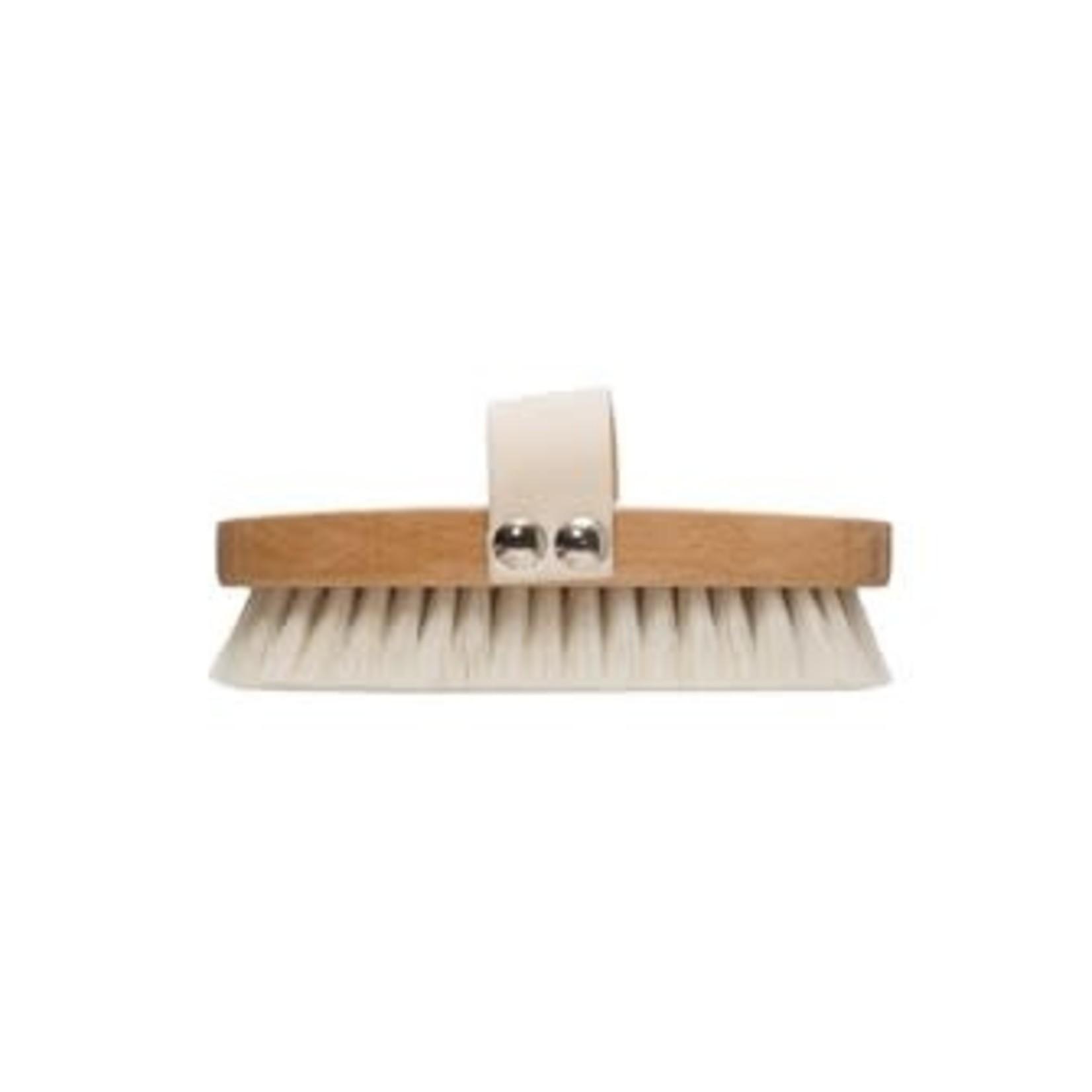 Beech Wood Bath Brush with Elastic Band