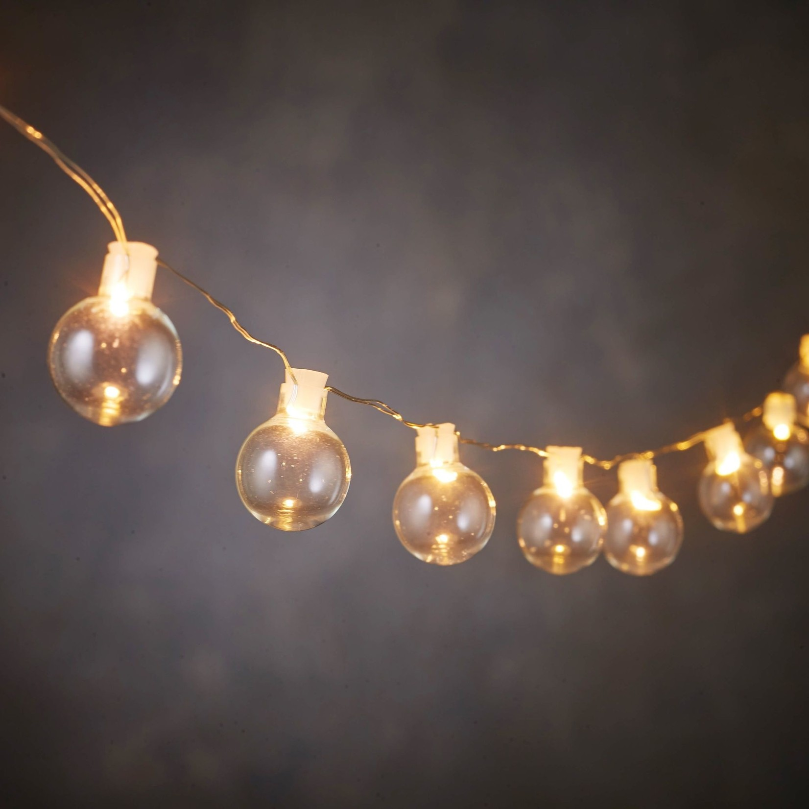 LED Clear Ball Strand