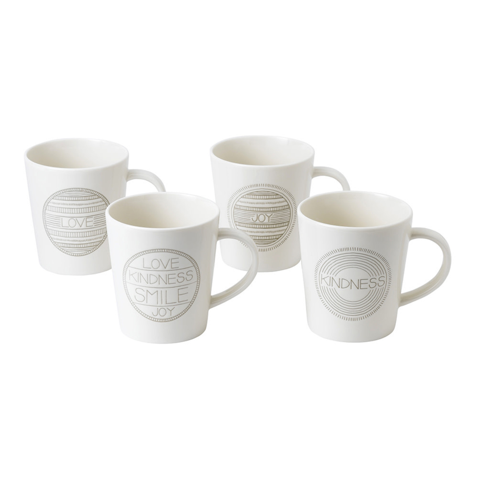 ED by Ellen Taupe Accent Mugs