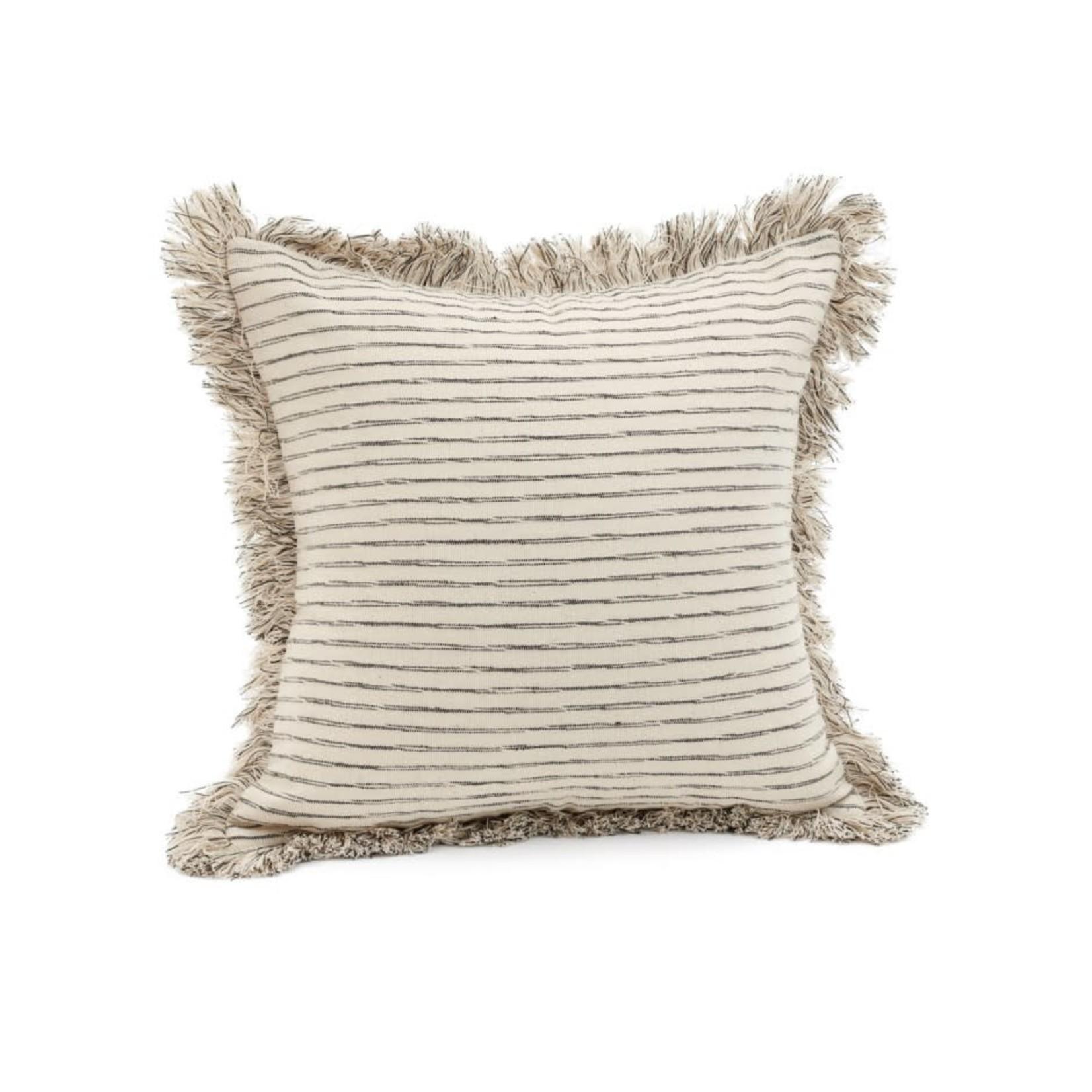 Cott Cushion with Black Stripe