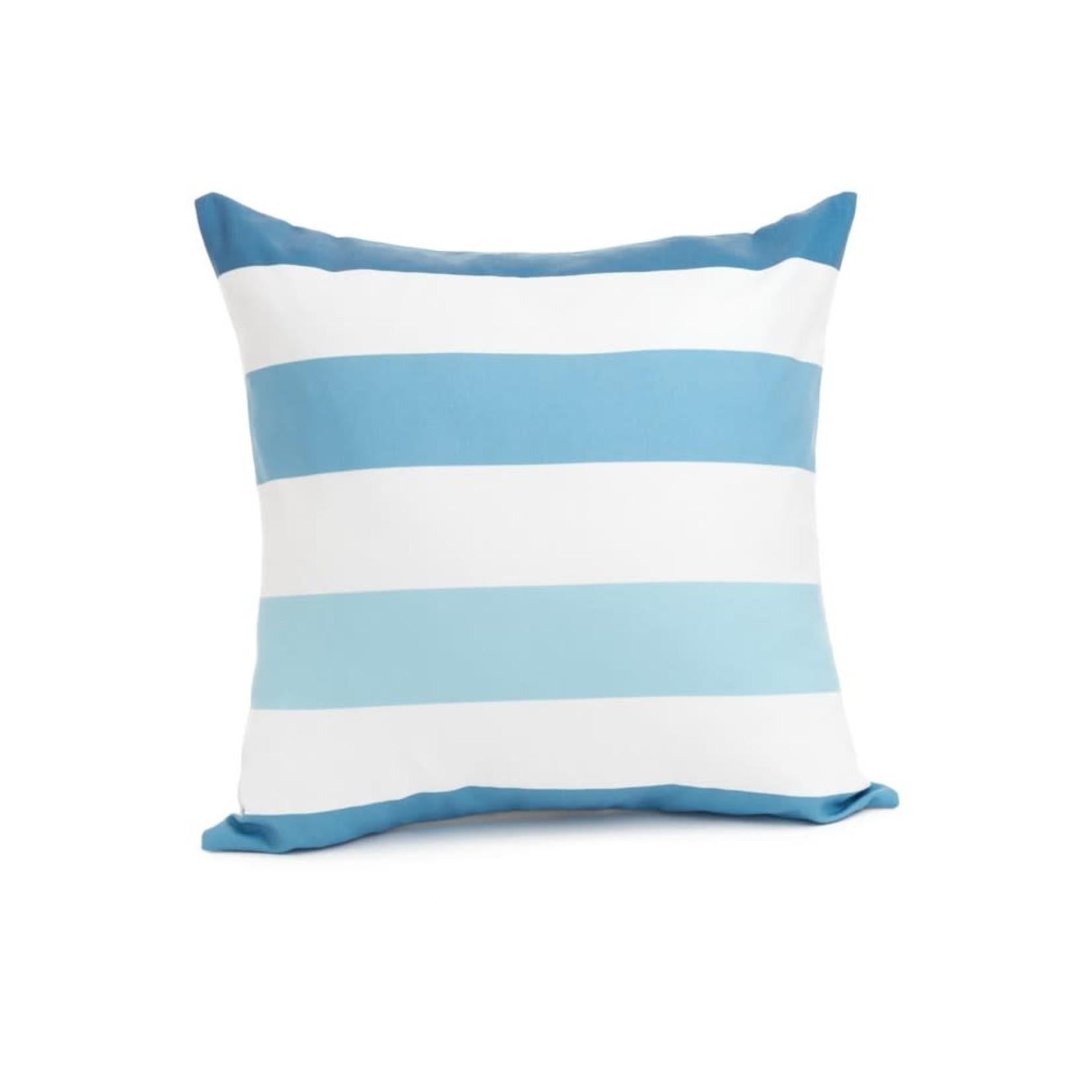 Blue Stripe Cushion, Large
