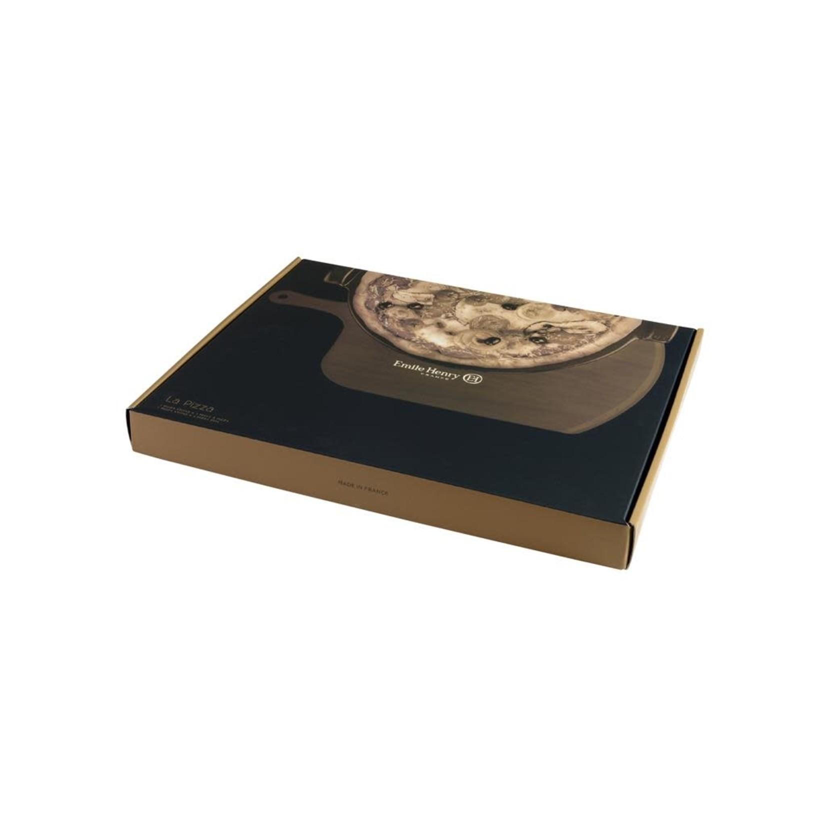 Pizza Stone Set, Fusain