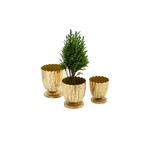 Floralis Metal Mini Urn