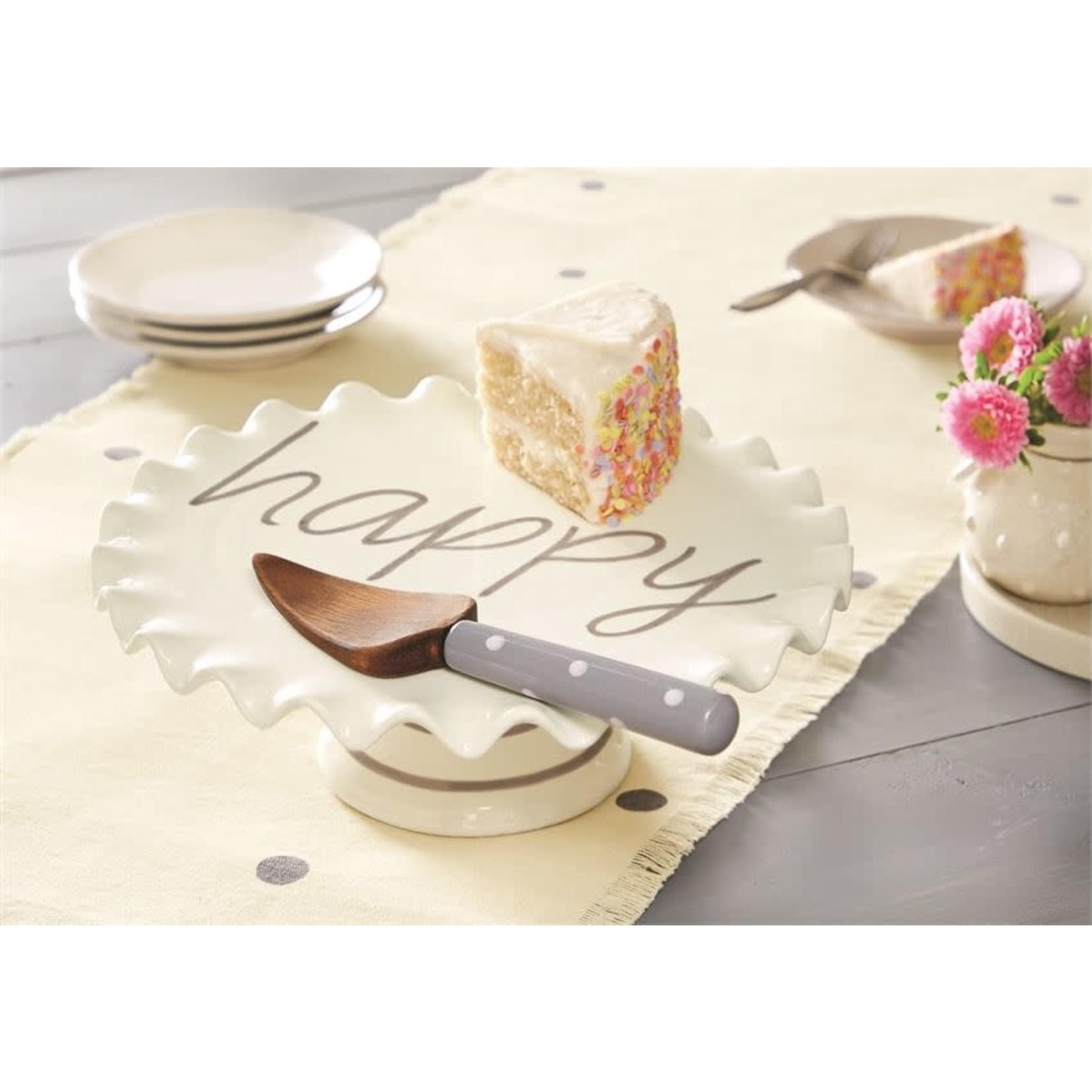 Happy Cake Pedestal Set