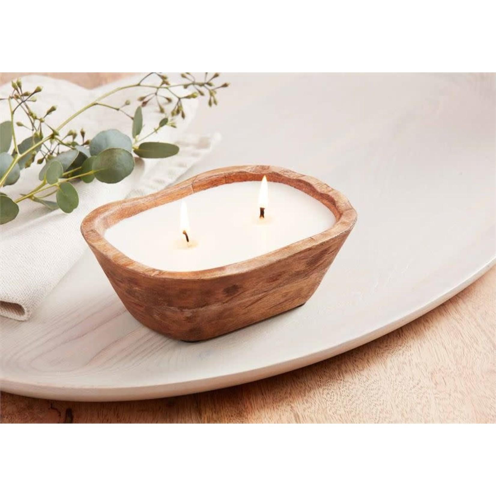 Petit Wood Bowl Candle (Multiple Sizes)