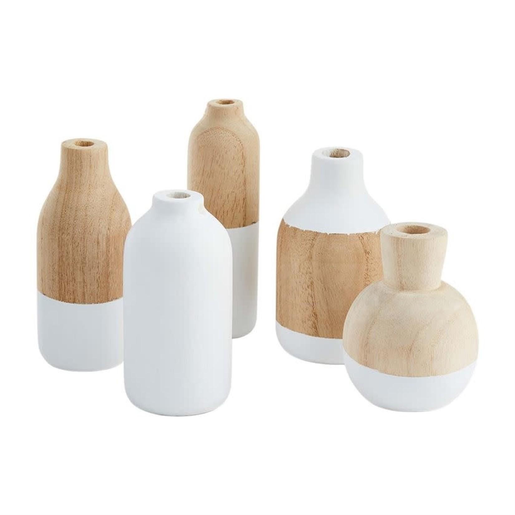 Paulownia Wood Bud Vase (Multiple Sizes)