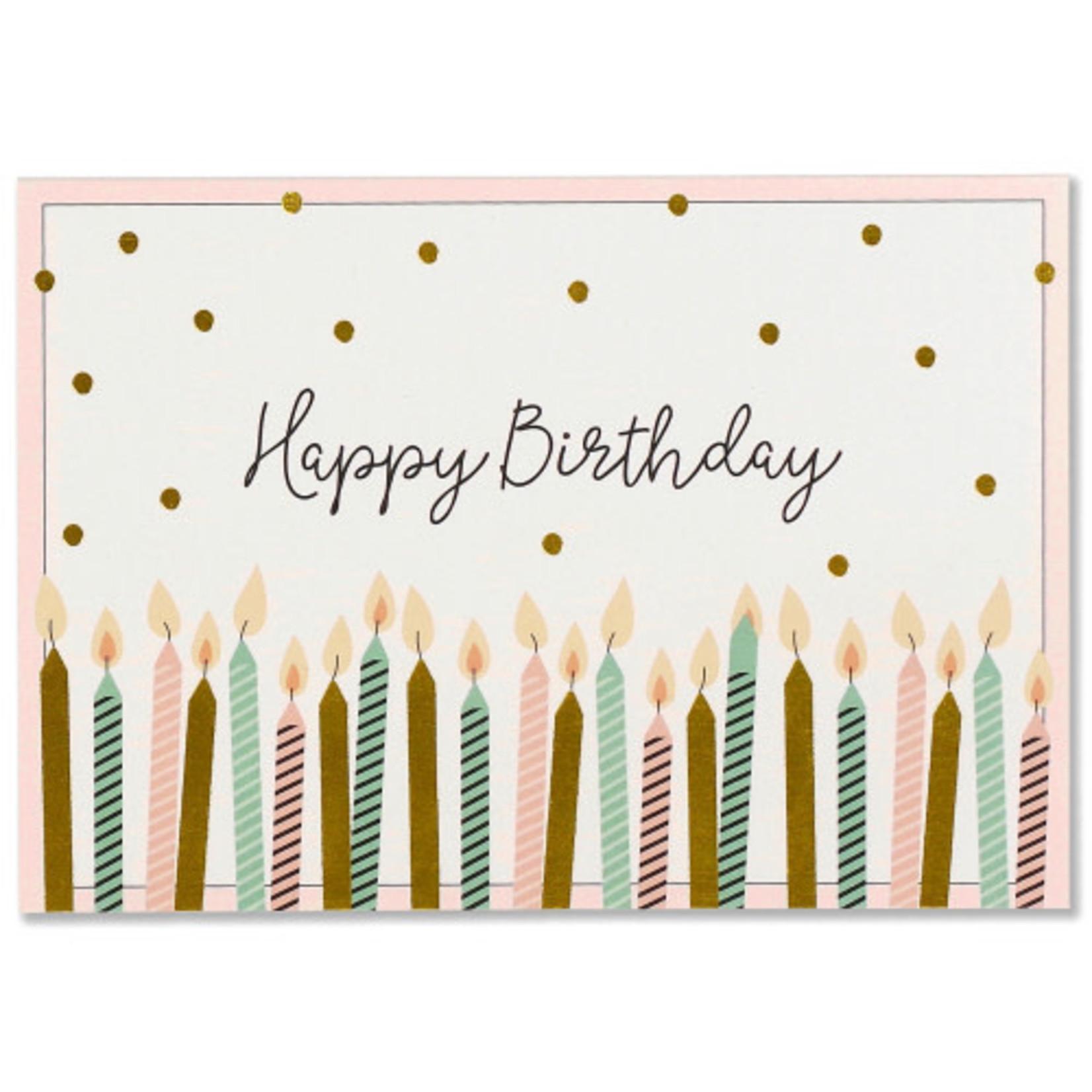 Happy Birthday Note Cards