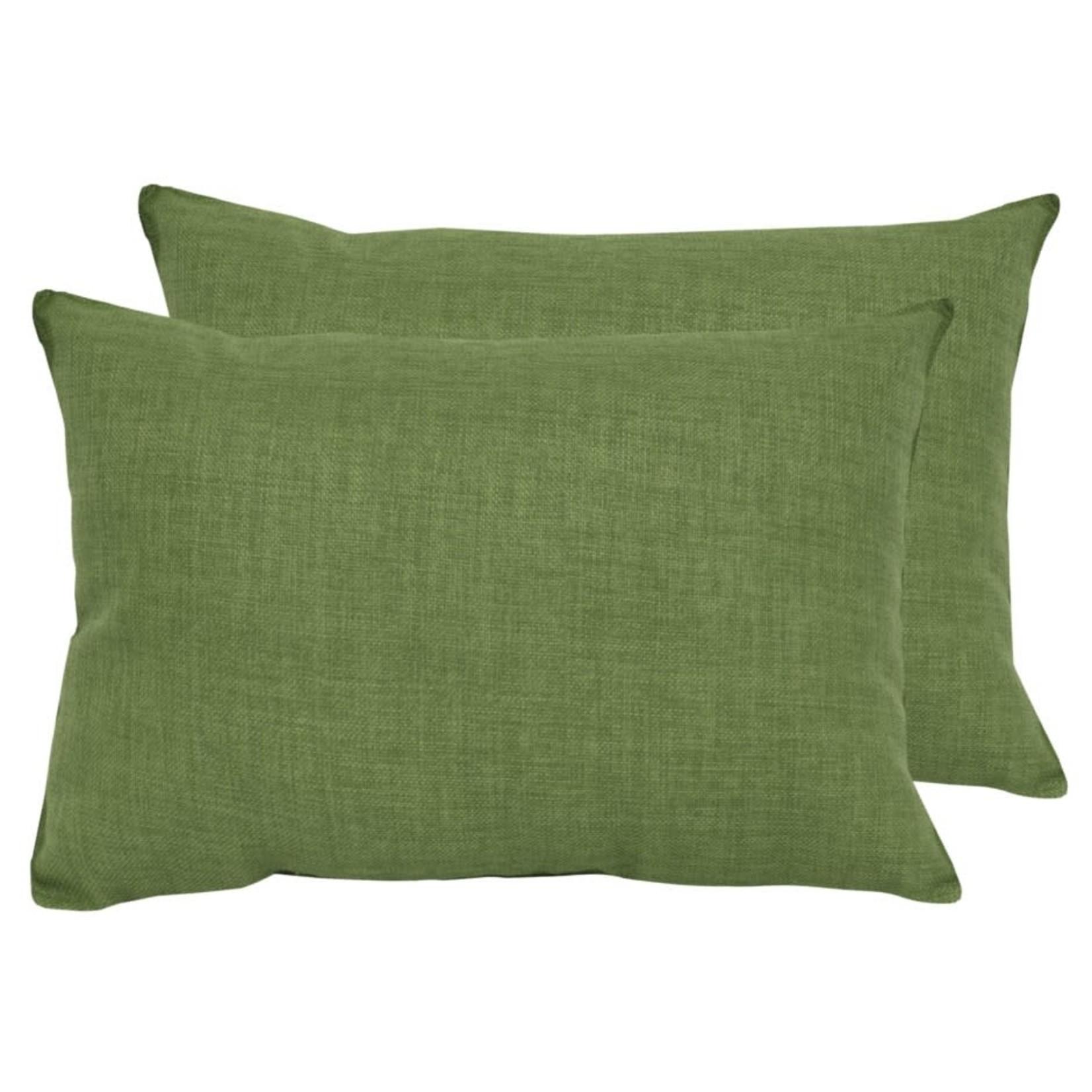Grass Green Outdoor Lumbar Pillow