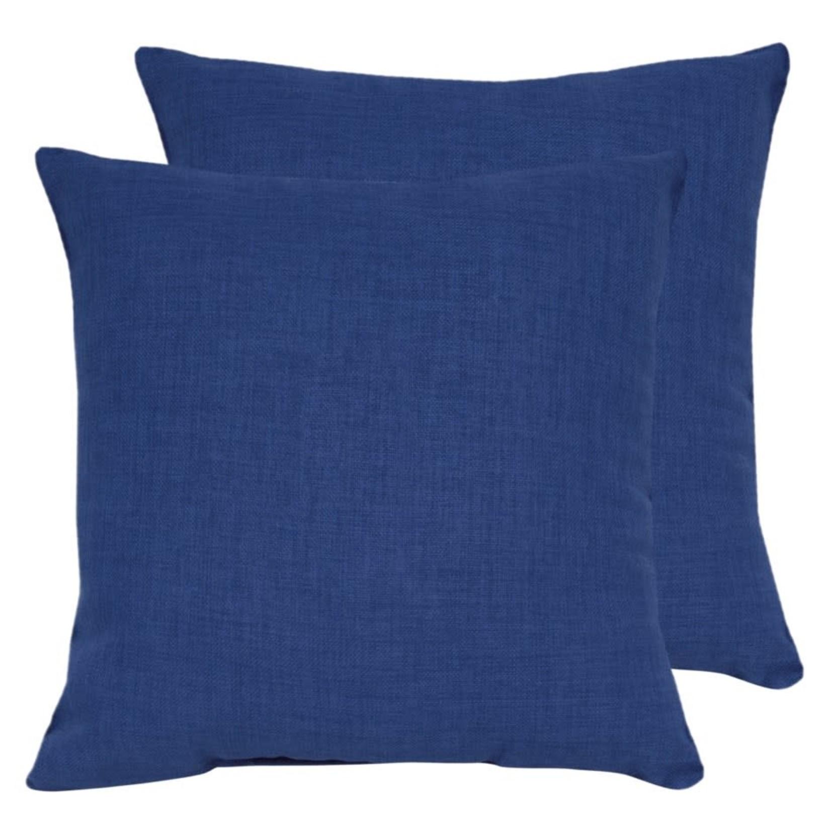 Royal Blue Outdoor Pillow