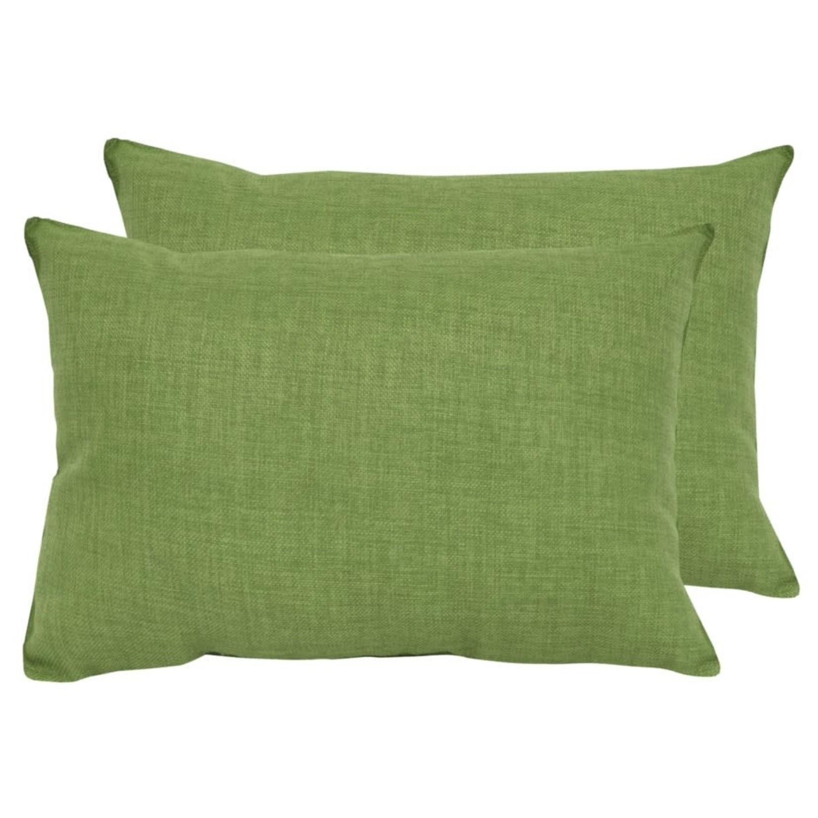 Kelly Green Outdoor Lumbar Pillow