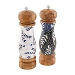 Blue Enamel Salt & Pepper Mills