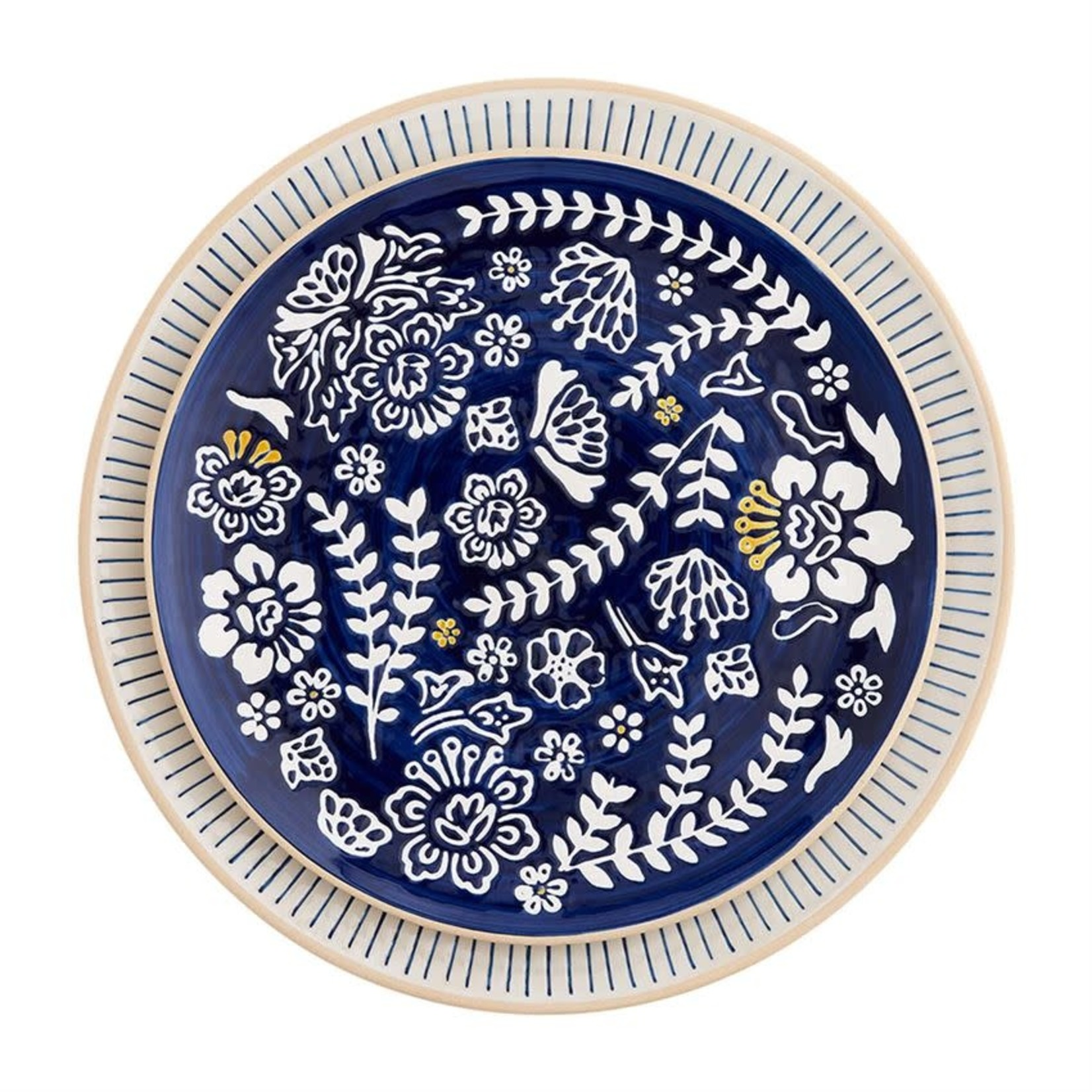 Indigo Round Platters (Multiple Sizes)