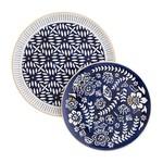 Indigo Round Platters (Multiple Sizes)