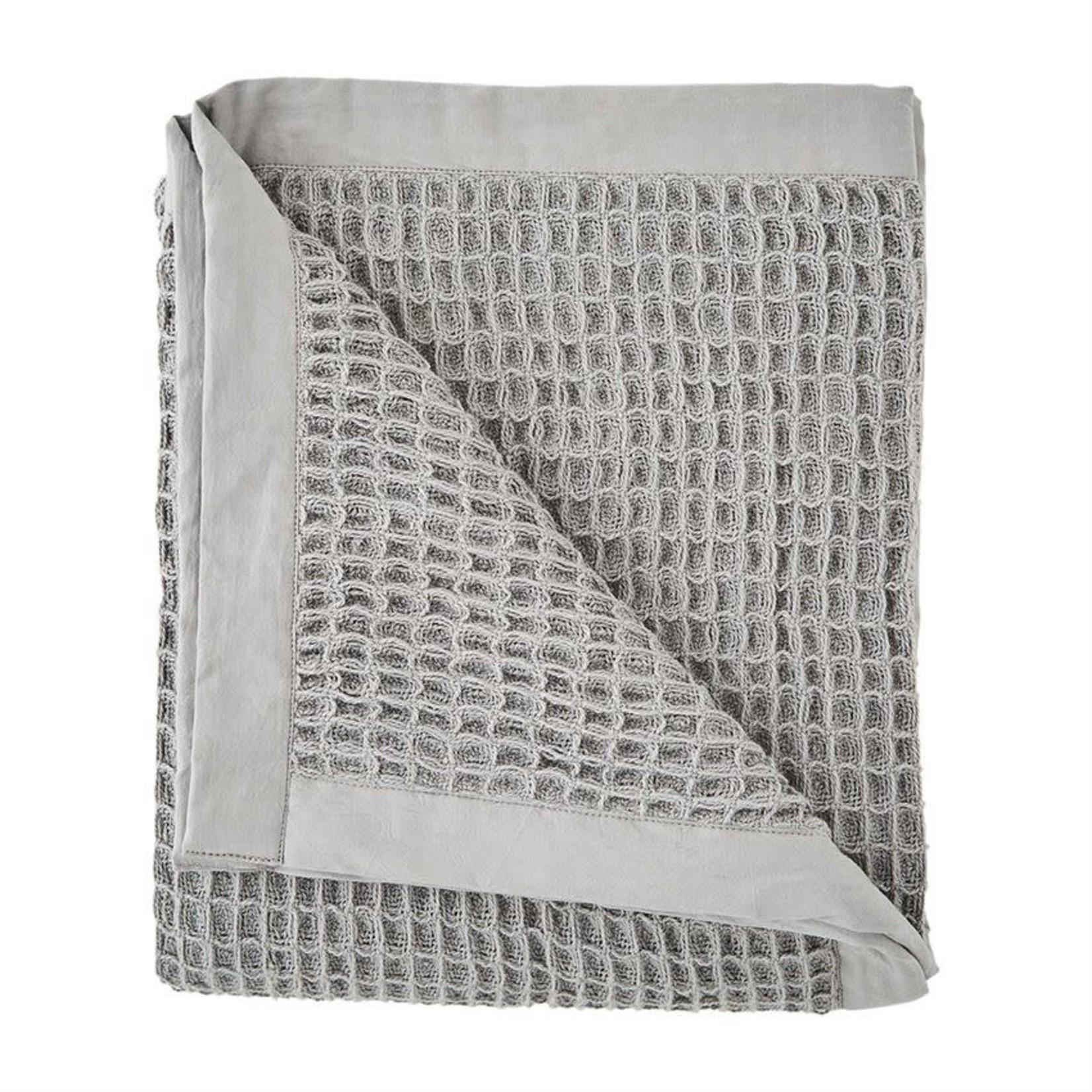 Grey Waffle Weave Blanket