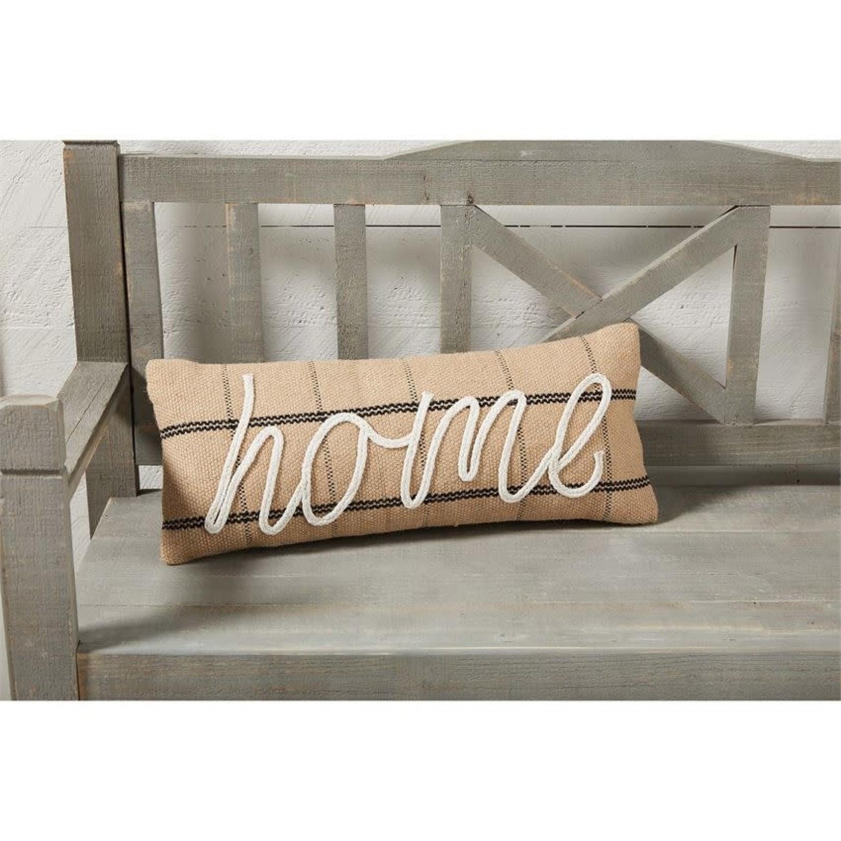 Jute Home Pillow