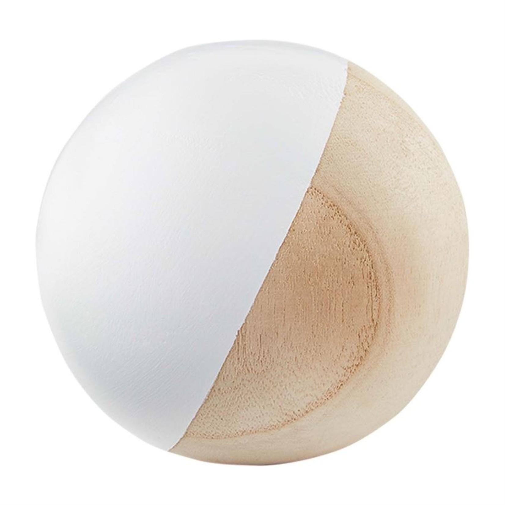 Paulownia Wood Decor Balls (Multiple Colours)