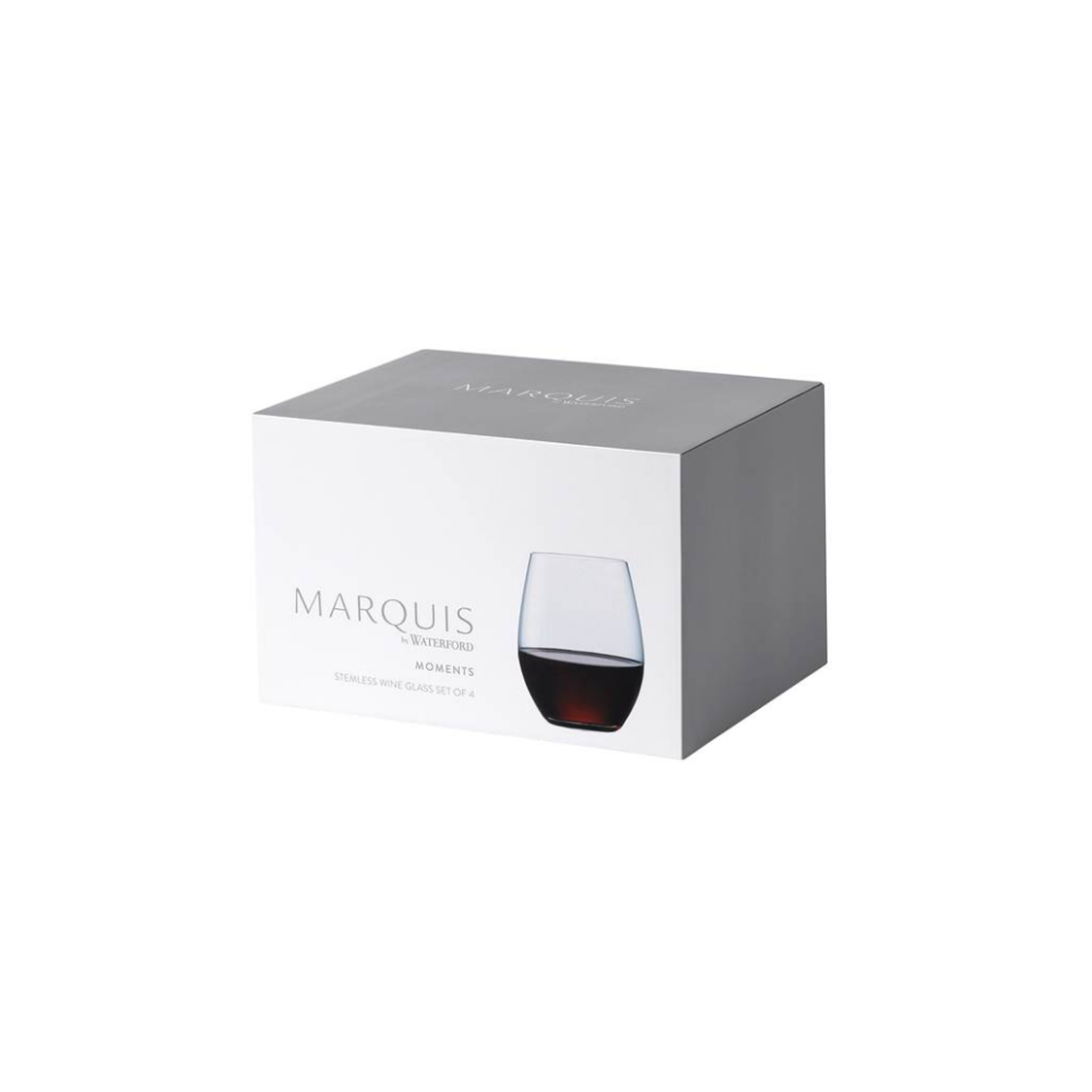 Moments Stemless Wine Glass, Set of 4