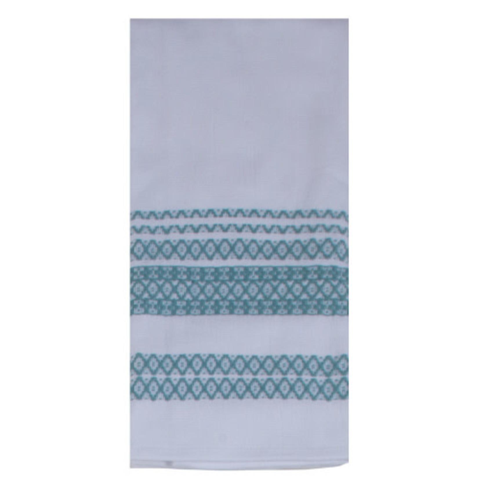 Aqua Haze Terry Towel