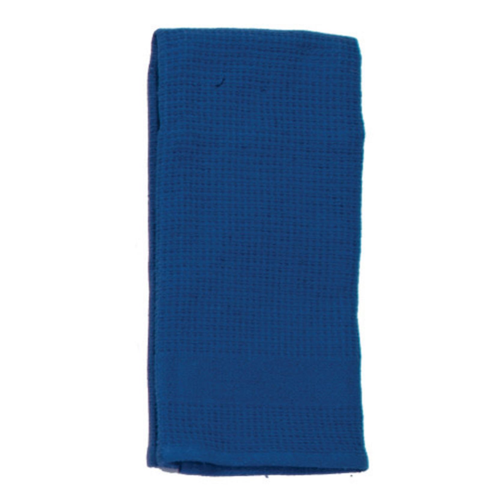 True Blue Waffle Terry Towel