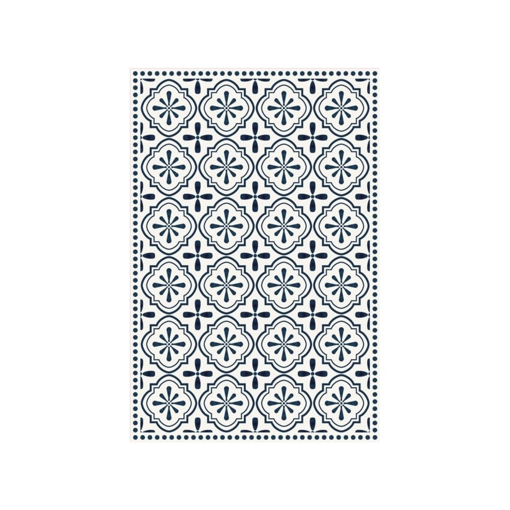 Cyclades Blue Ceramic Mat