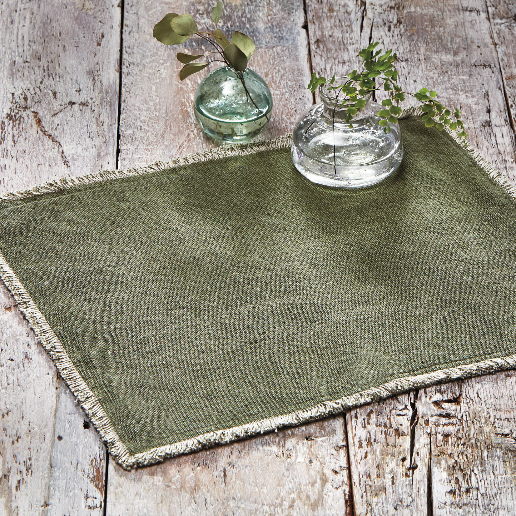 Crosby Placemats Green