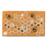 Welcome Home Honeycomb Coir Mat